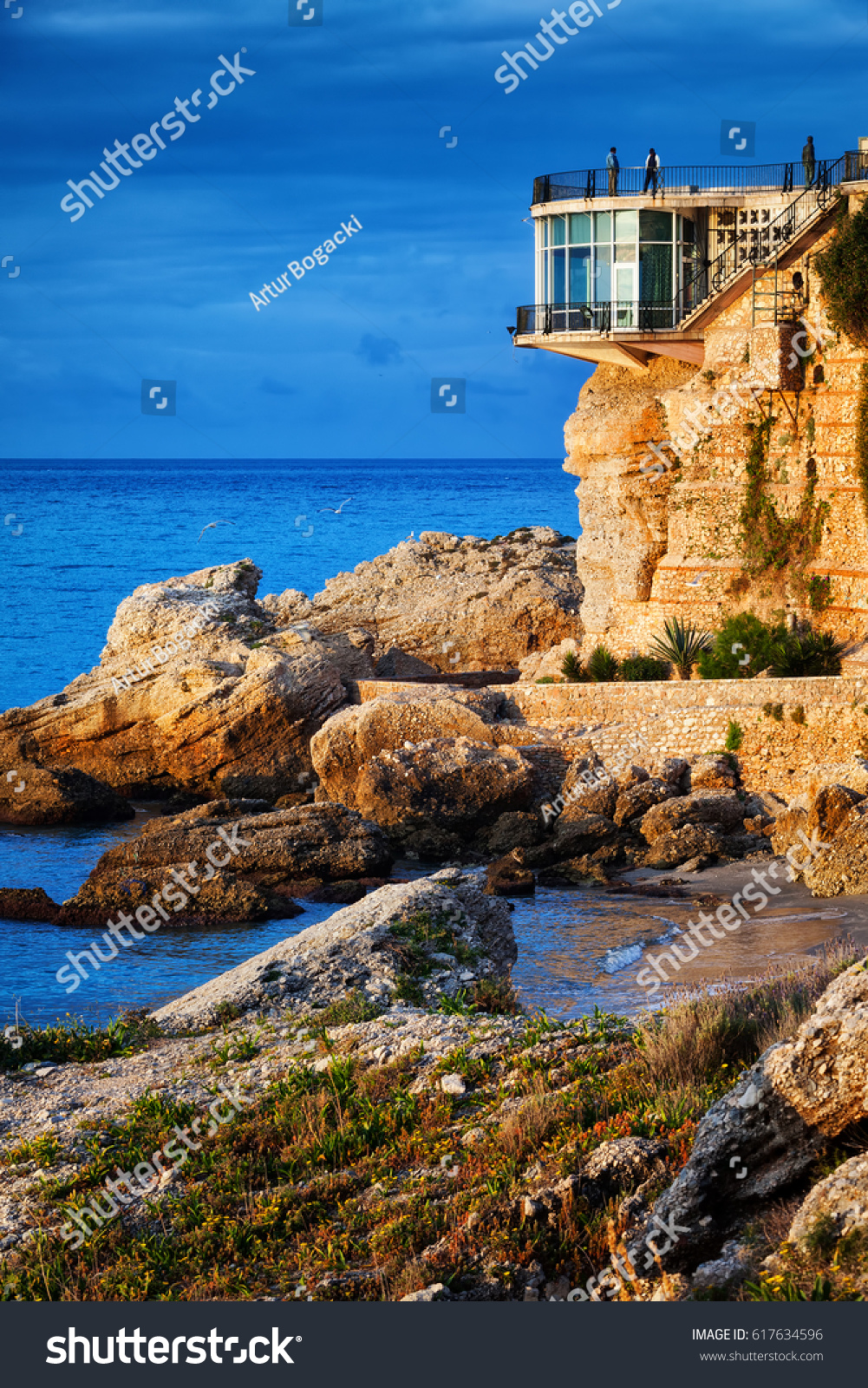 Sol Balcon Spain Costa Del Sol Balcon De Stock Photo Edit Now 617634596