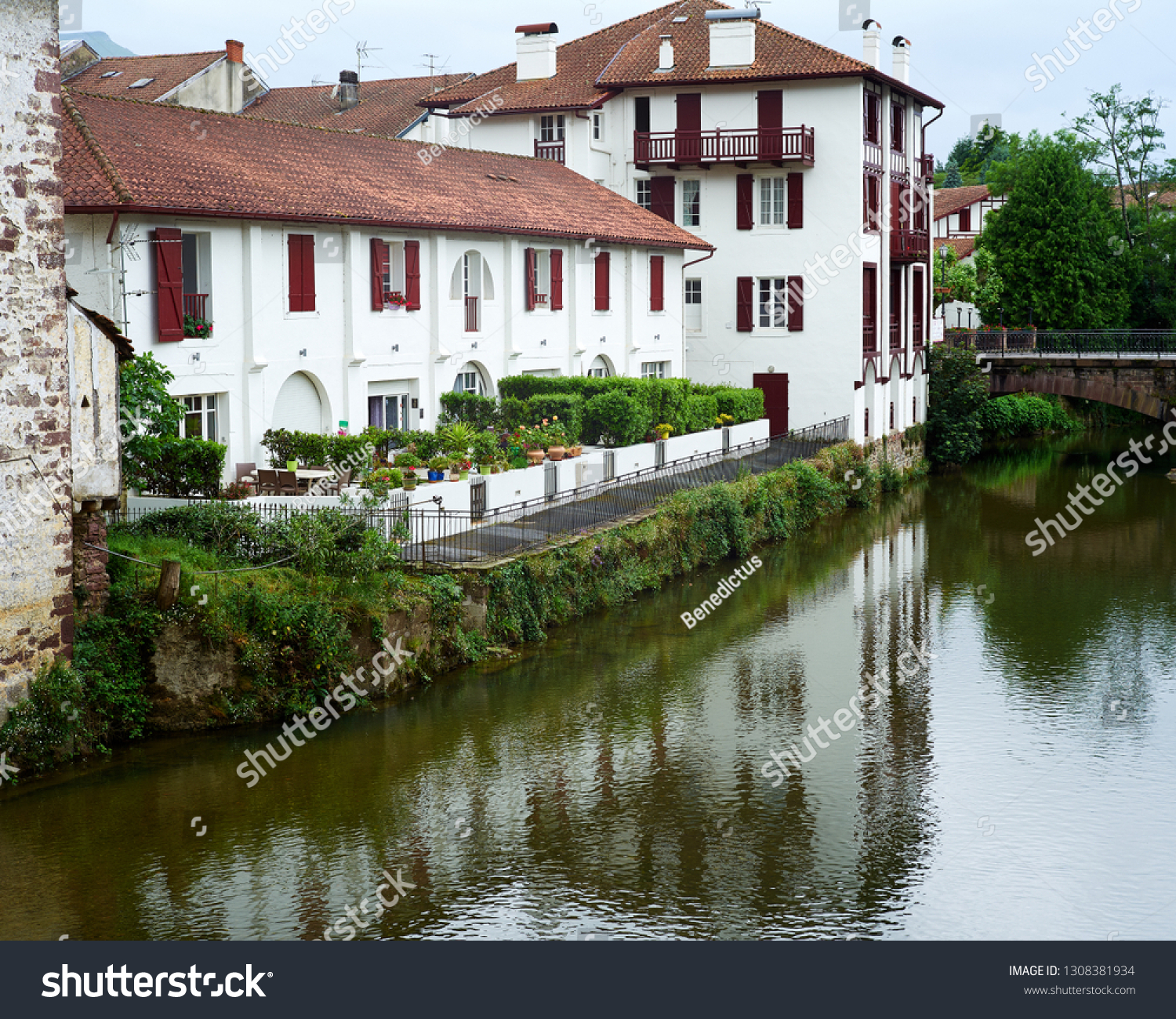 Saint Jean Pied De Port St Jean Pied De Port France Stock Photo Edit Now 1308381934