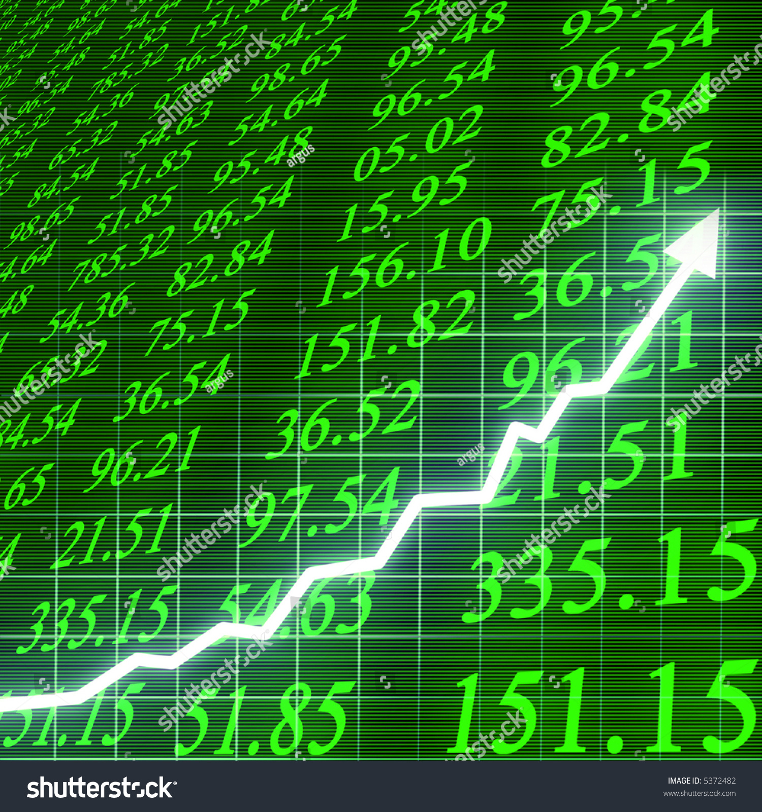 Stock Markets Up Stock Market Going Stock Illustration 5372482 Shutterstock