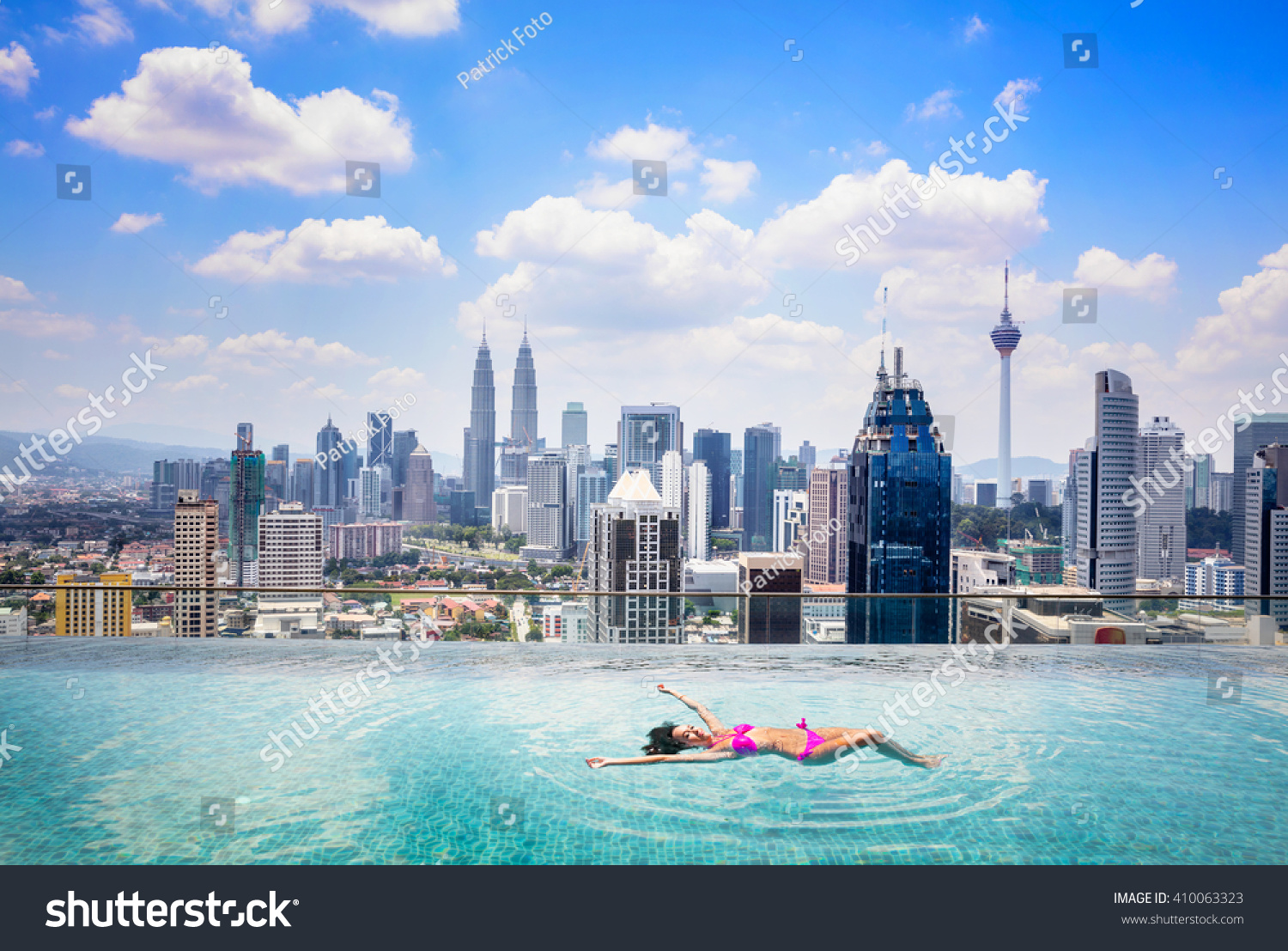 Rooftop Zwembad Kuala Lumpur Swimming Pool On Roof Top With Beautiful City View Kuala