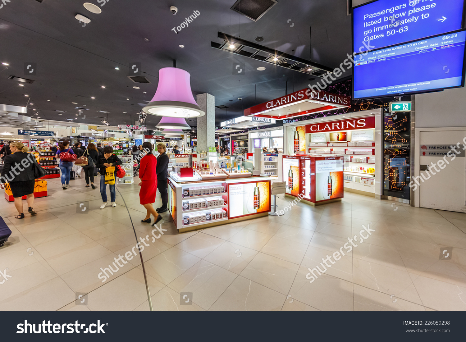 Sydney Airport Shops Sydney May 17 Duty Free Shops Stock Photo Edit Now 226059298