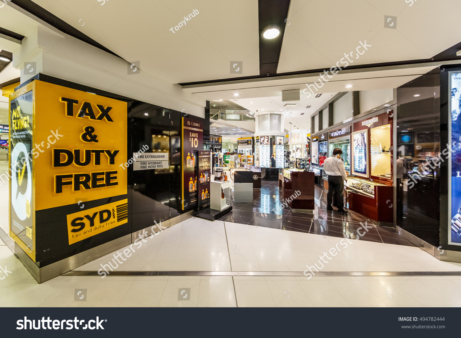 Sydney Airport Shops Sydney May 17 Duty Free Shops Stock Photo Edit Now 494782444