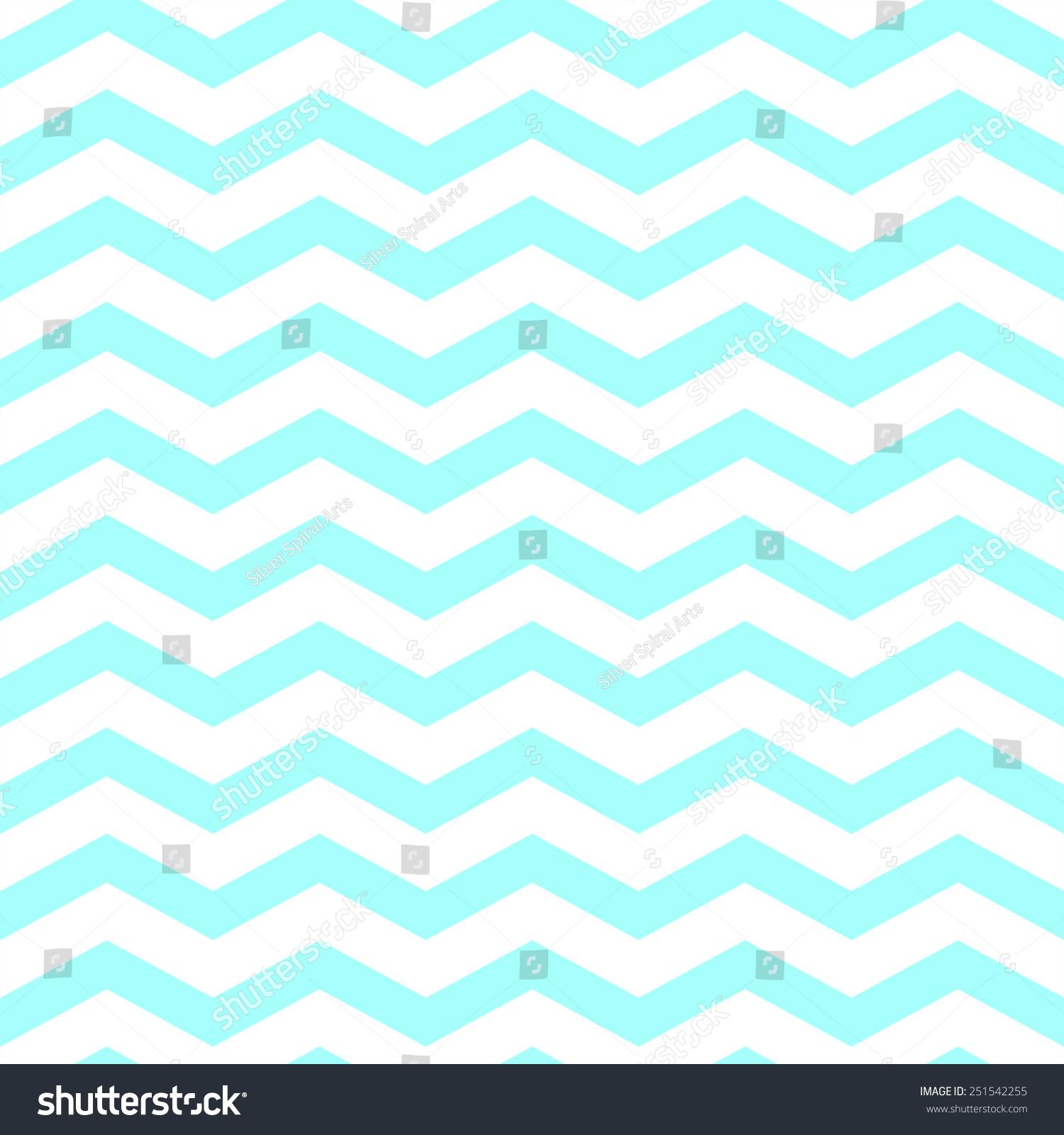 Teal aqua blue white chevron pattern stock illustration