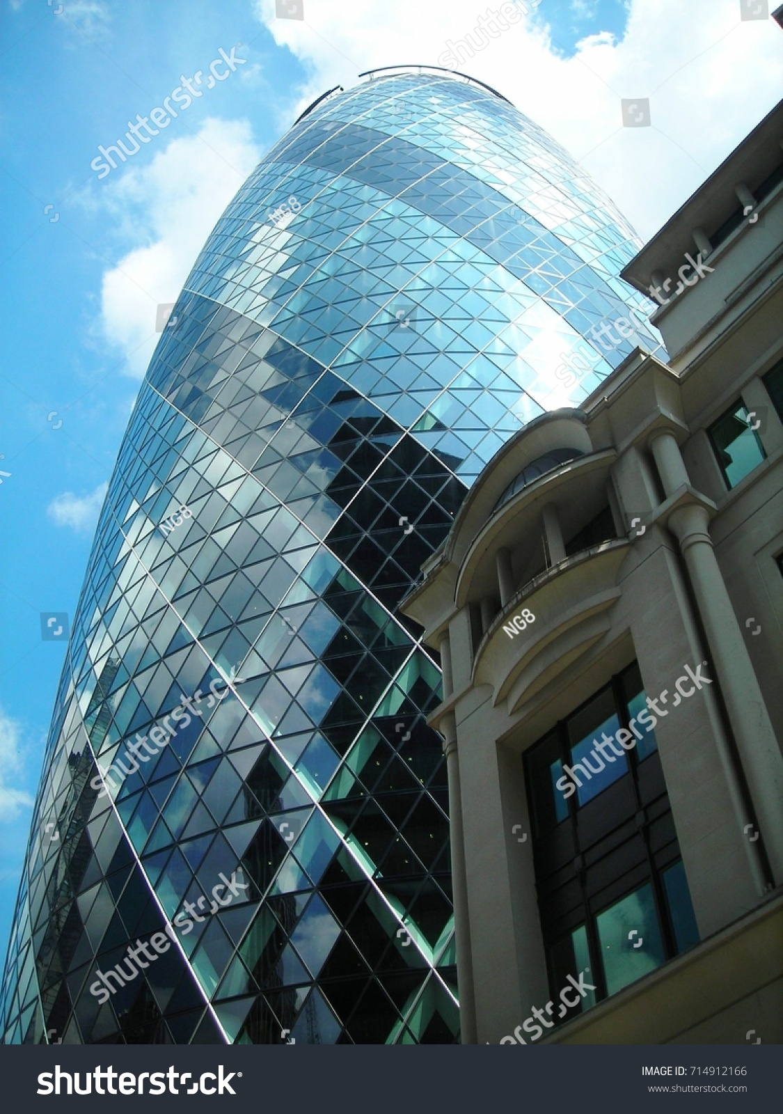 Norman Foster Gherkin Norman Foster Architect Behind Other Stock Photo Edit Now