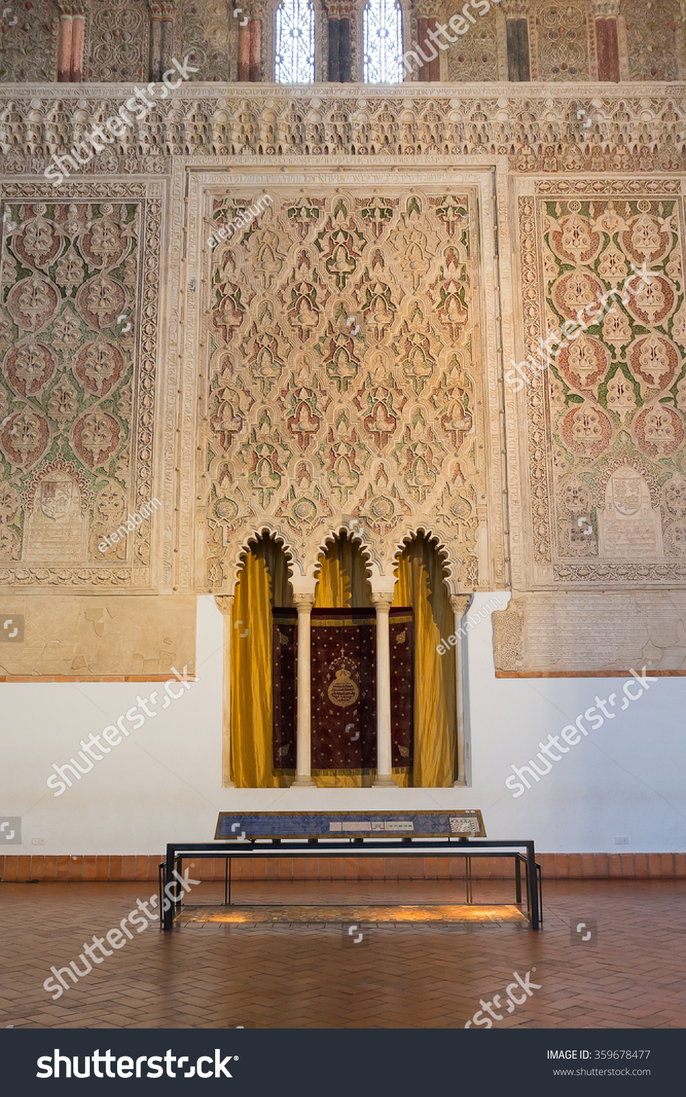 Maison Decor Valladolid Toledo March 27 Interior Synagogue El Stock Photo Edit Now