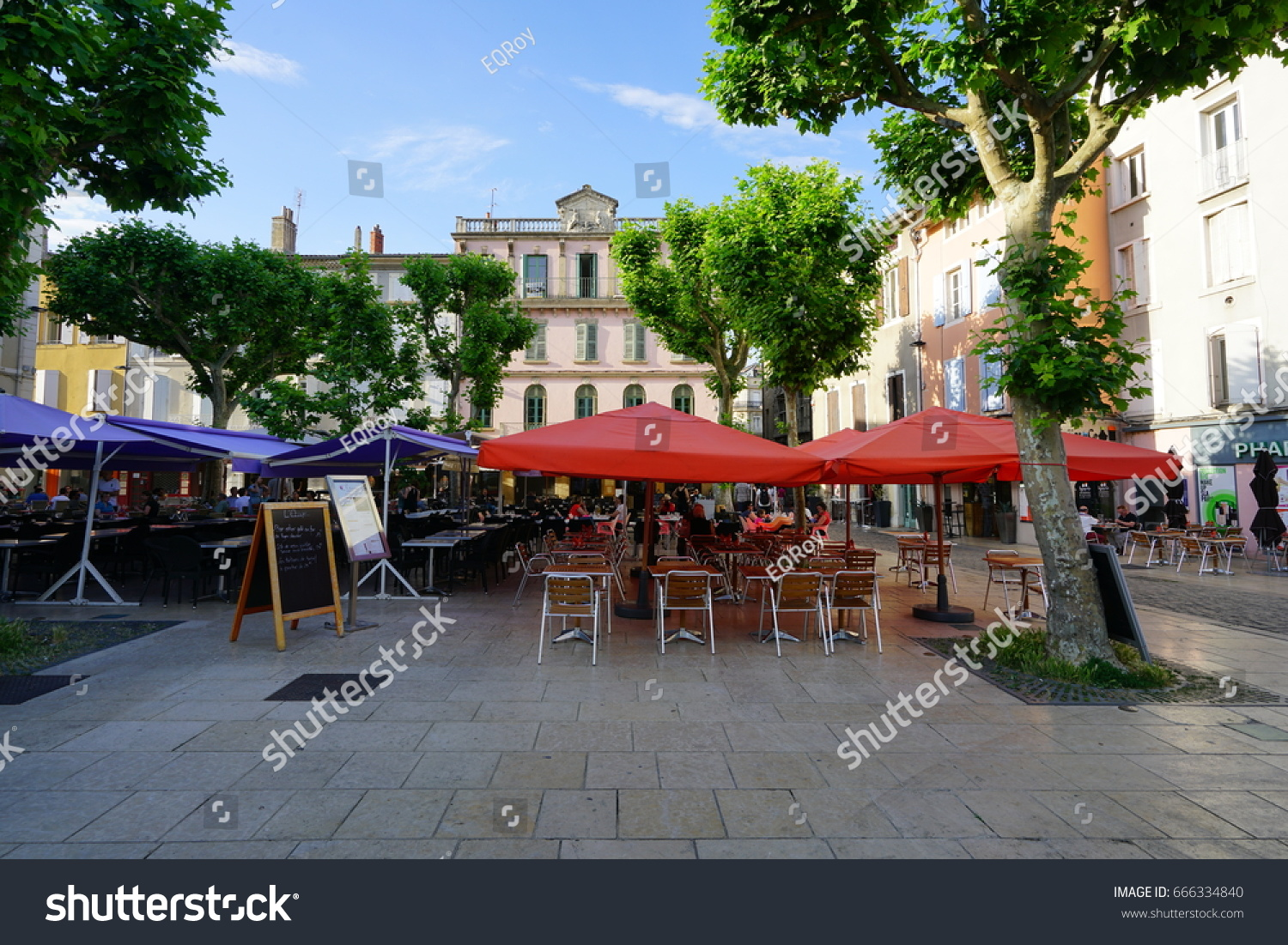 Les Halles Restaurant Valence Valence France 30 May 2017 View Stock Photo Edit Now 666334840