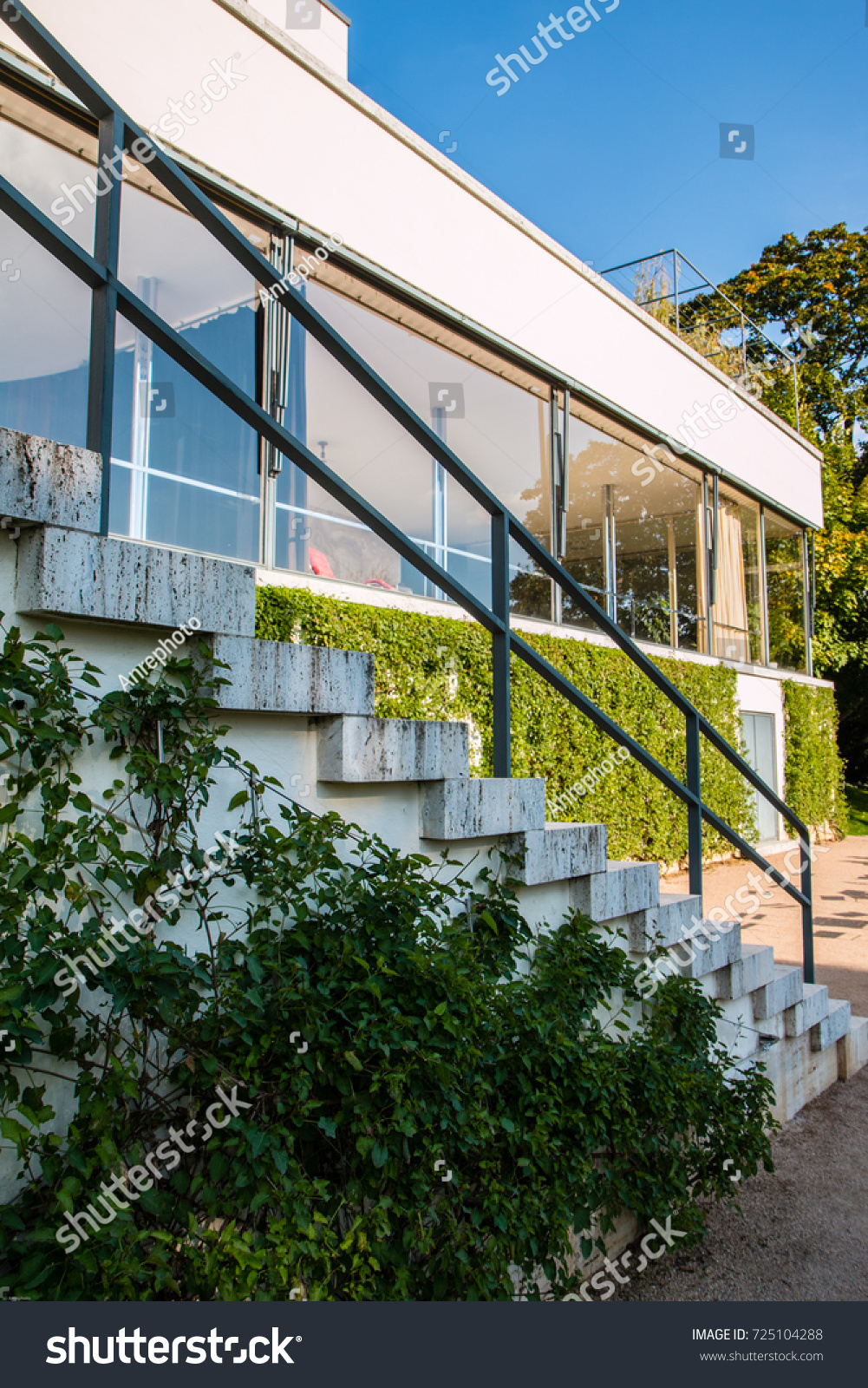 Villa Tugendhat Villa Tugendhat Historical Building Brno Czech Stock Photo Edit