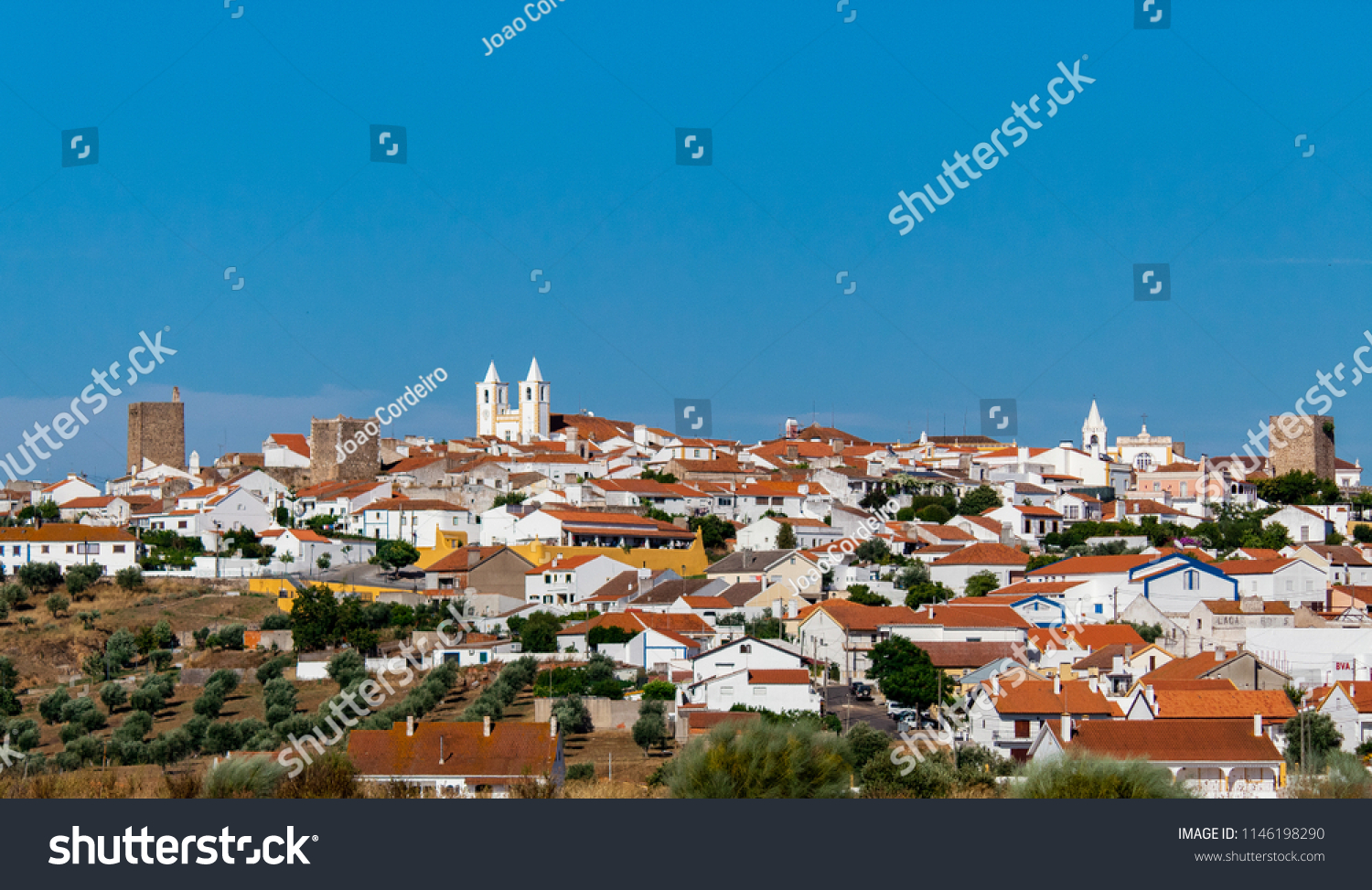 Avis Malaga Village Avis Alentejo Portugal Stock Photo Edit Now 1146198290