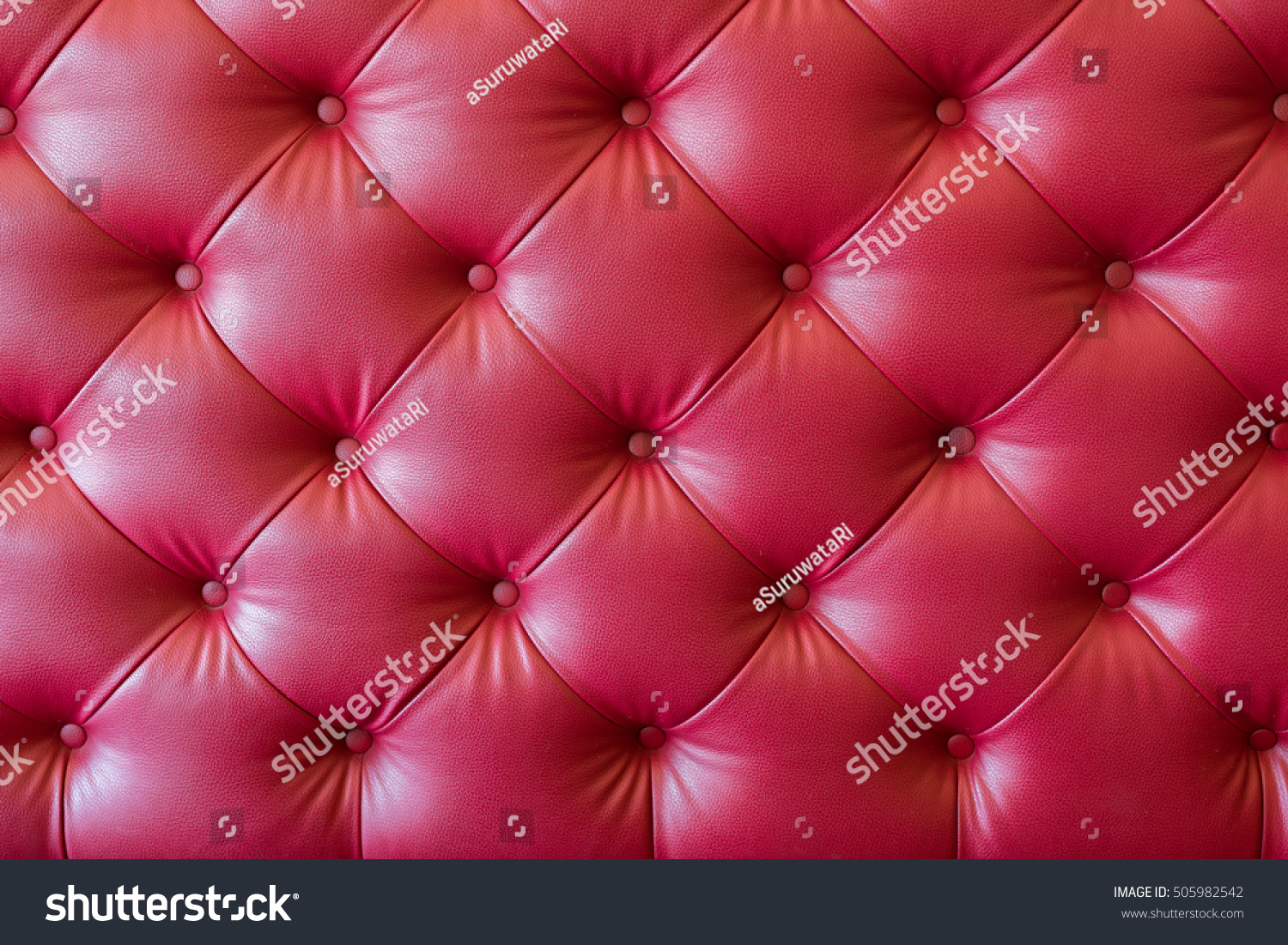Retro Inflatable Sofa Vintage Red Leather Sofa Texture Background Stock Photo Edit Now