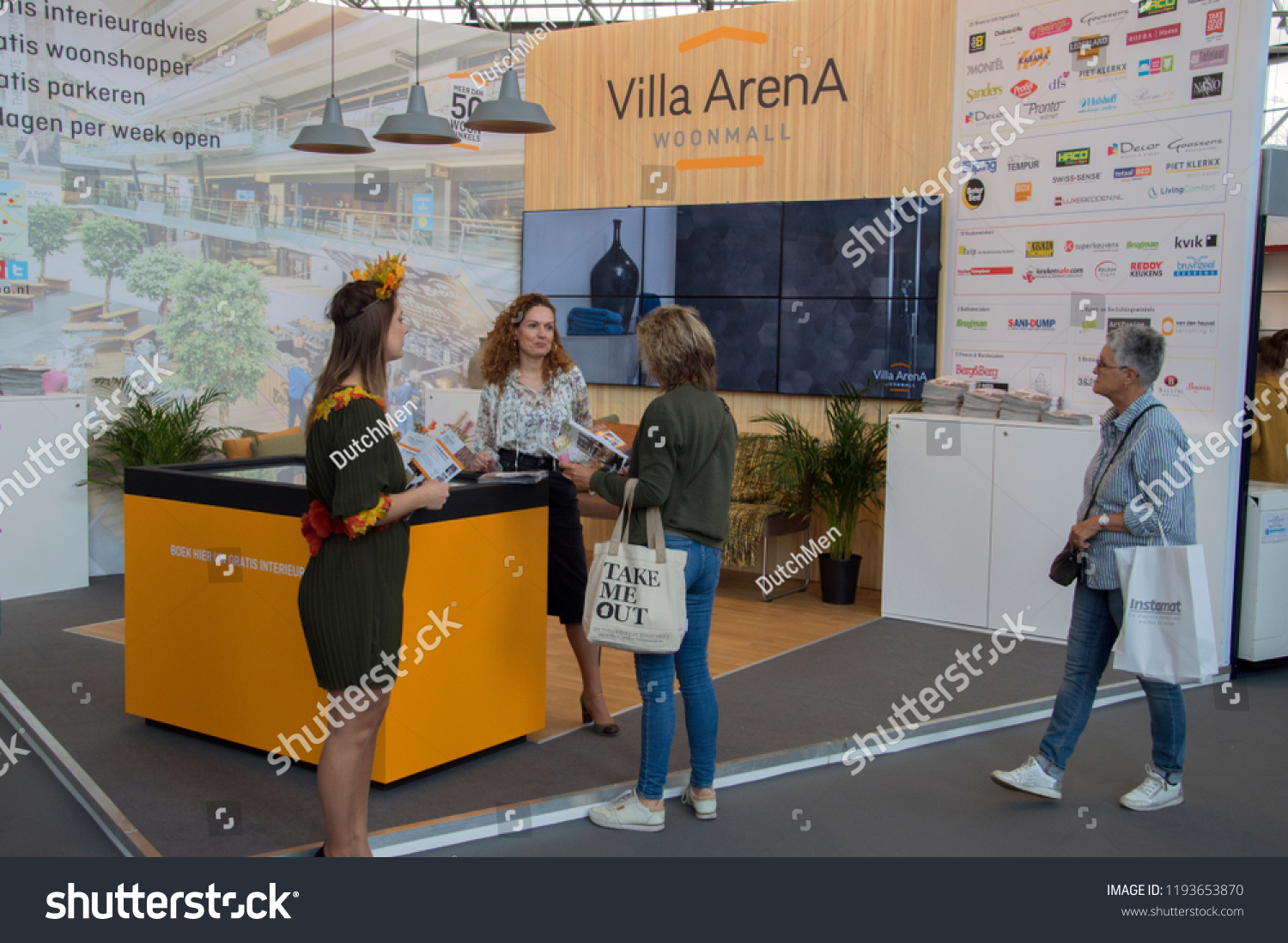 Interieur Design Beurs Visitors Vt Wonen Design Beurs Exhibition Stock Photo Edit Now