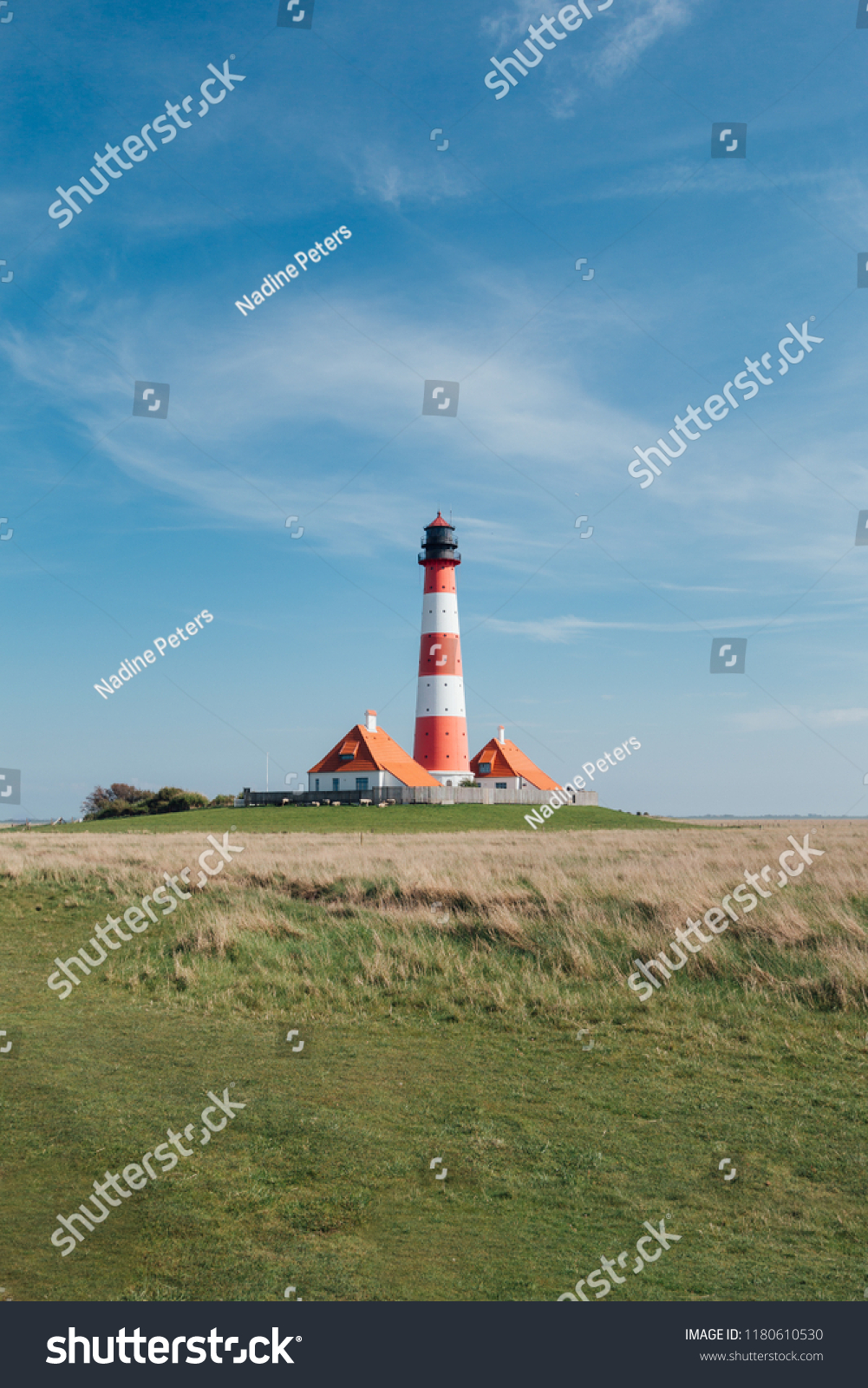 Bilder Leuchtturm Westerhever Leuchtturm Nordsee Stock Photo Edit Now 1180610530