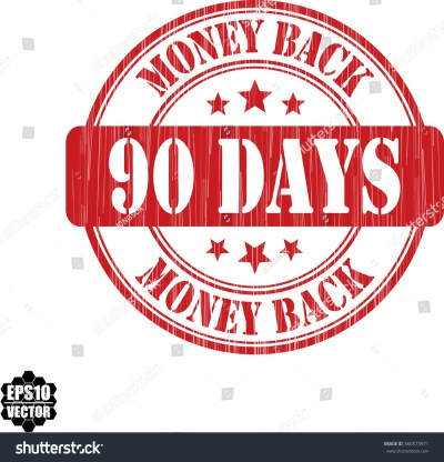 90 Days Money Back Grunge Rubber Stamp, Vector Illustration - 360573971 : Shutterstock