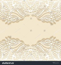 Abstract Background Wedding Invitation Greeting Card Stock