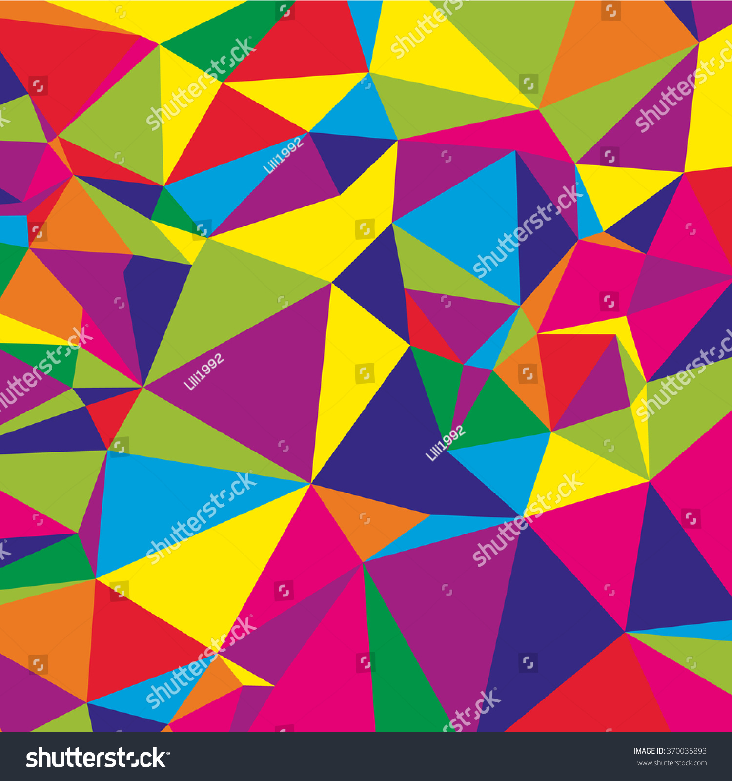 Warna Modern Abstract Geometric Background Modern Overlapping Triangles Stock
