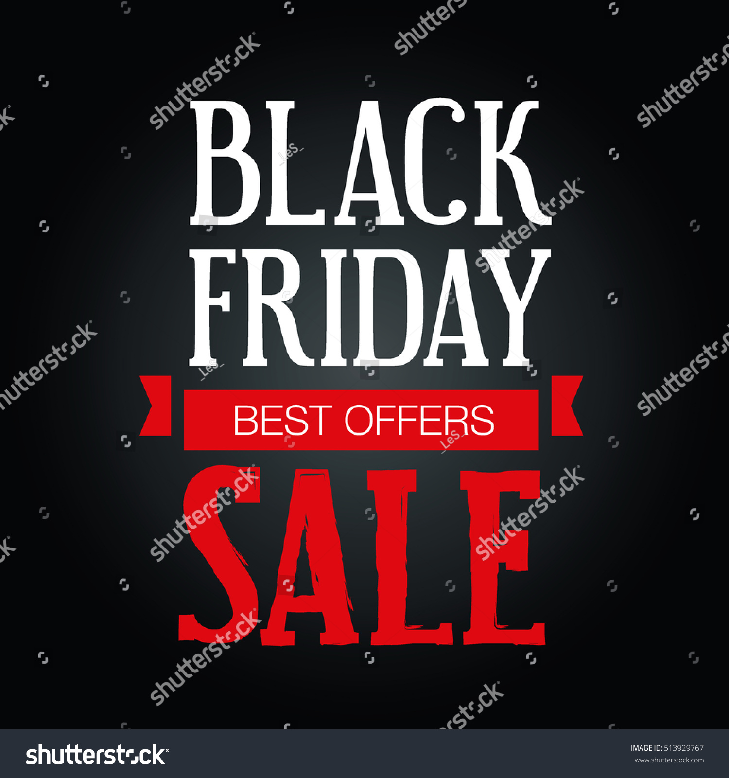 Large Black And White Posters Big Sales Black Friday Poster On Stock Vector 513929767