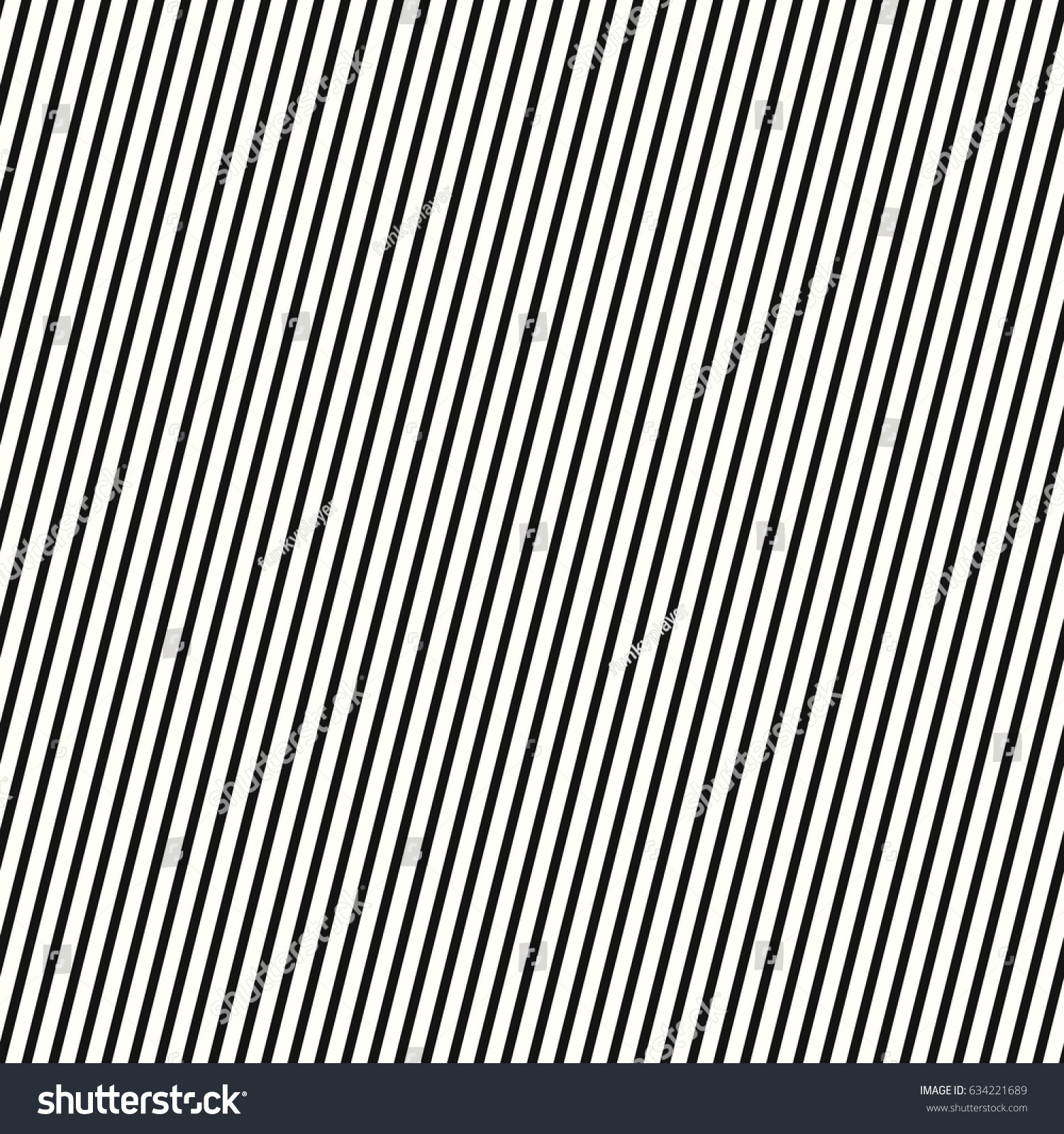 Black diagonal lines background striped wallpaper seamless surface pattern design with symmetrical linear ornament