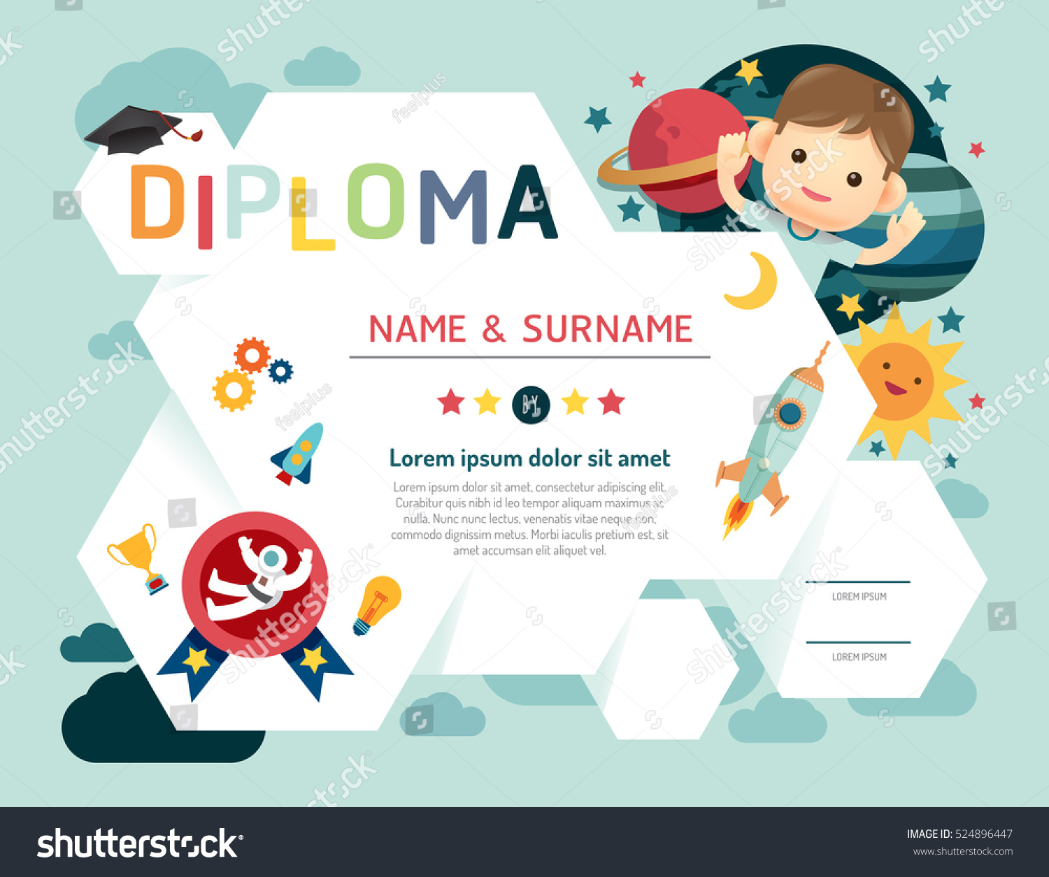 Joke divorce papers contract of homemade gift vouchers templates joke divorce papers birth certificate sample resume finance stock vector certificate kids diploma kindergarten template layout yadclub Image collections