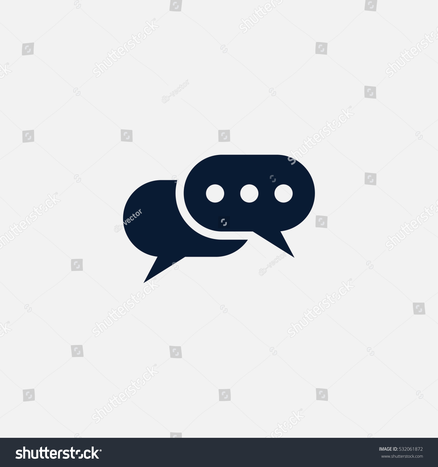 Gratis Juridisch Advies Chat Chat Icon Simple Communication Sign Vector Stockvector