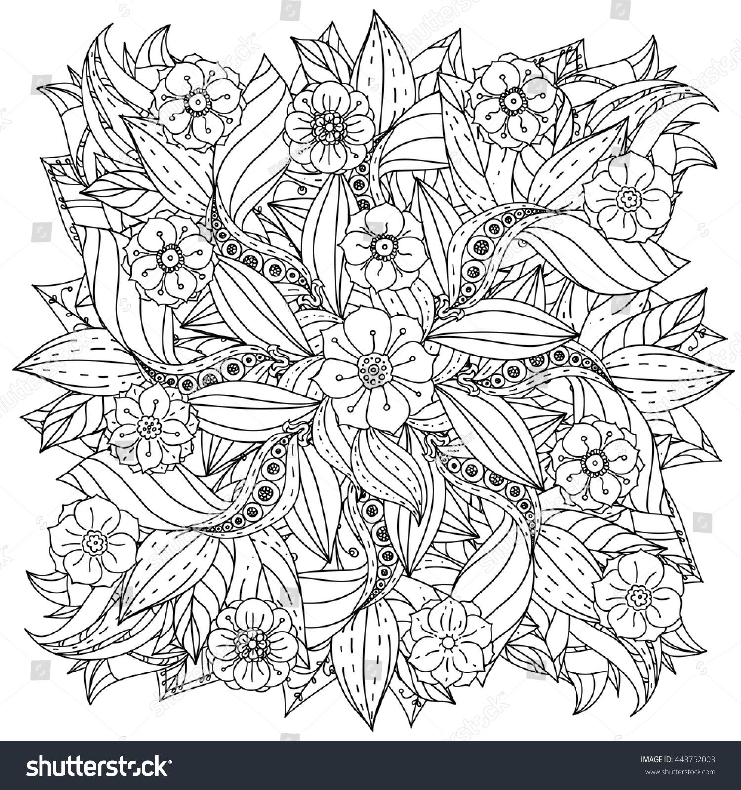 Ze zen inspiration coloring book -