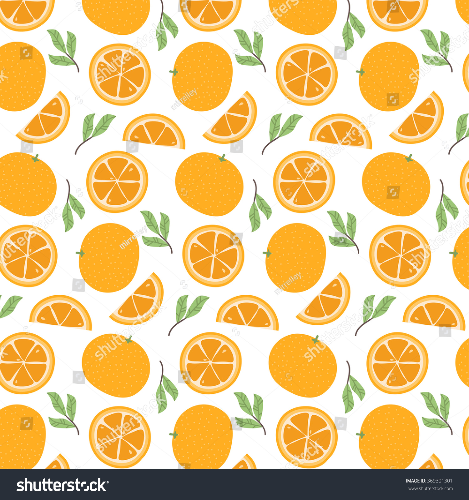 Lilly Pulitzer Wallpaper Fall Cute Pattern Cartoon Oranges Oranges Slices Vectores En