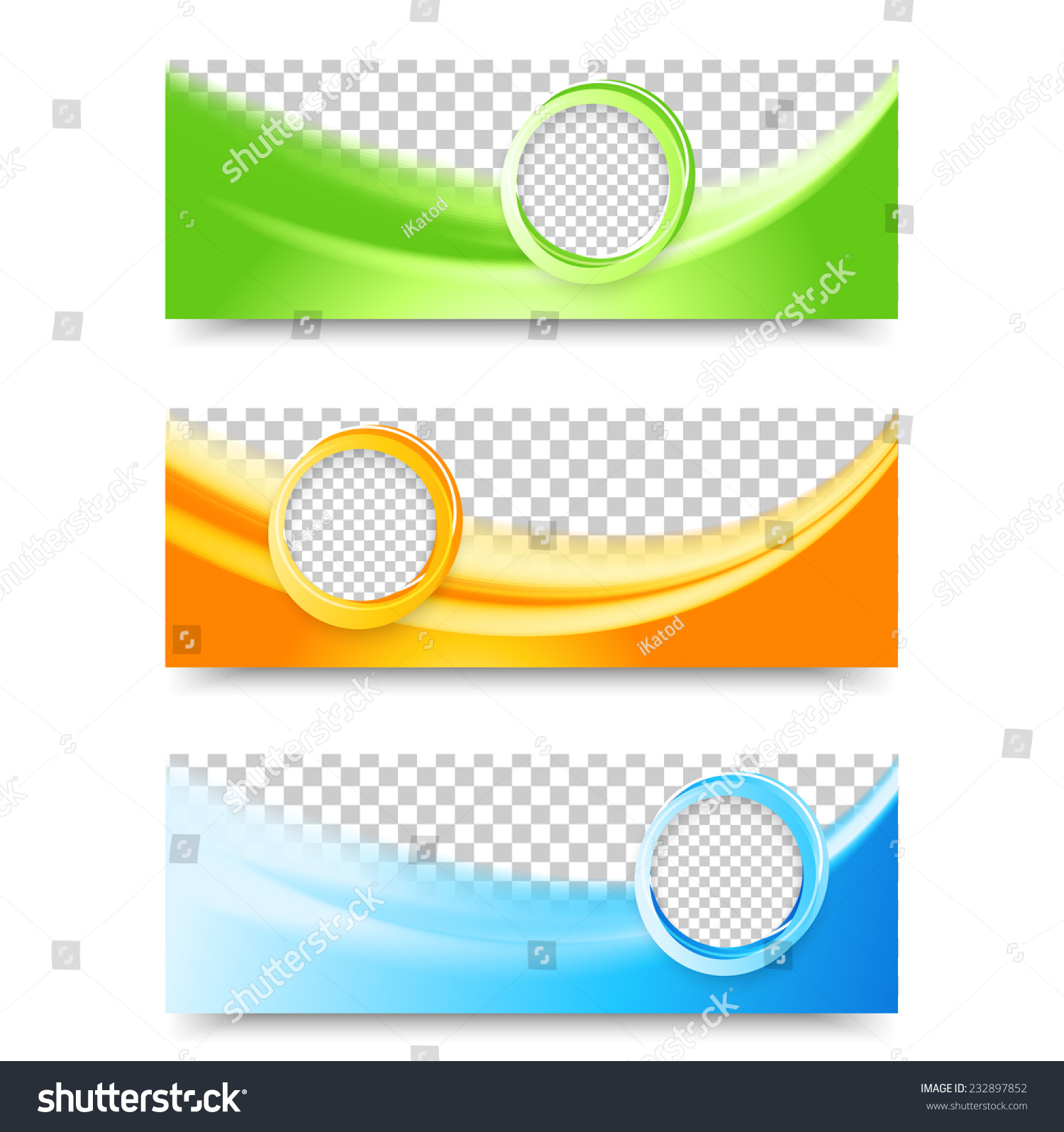 Flyer template header design banner design templates collection with bubbles