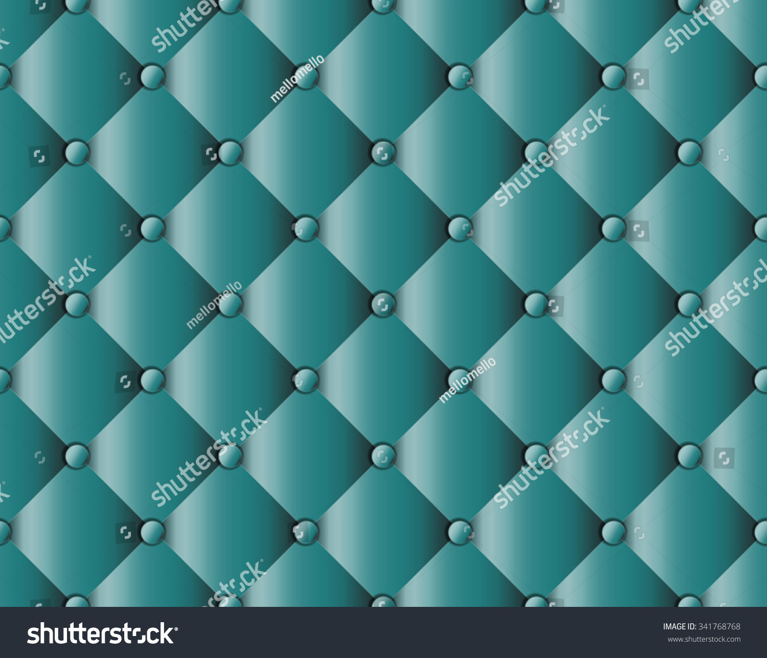 Sofa Texture Vector Green Upholstery Sofa Texture Pattern Background Stock Vector