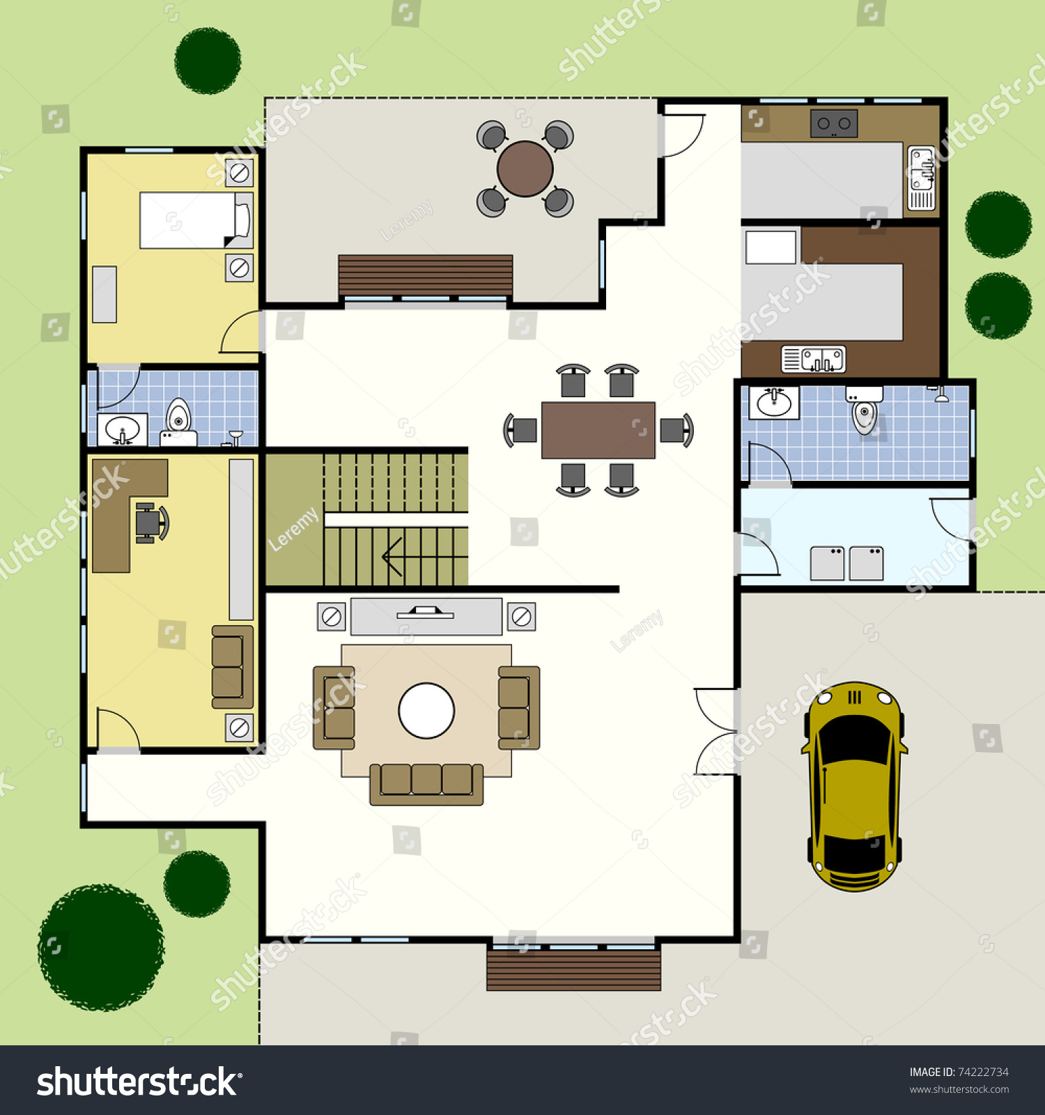 ground floor plan floorplan house home building architecture blueprint house plans home plans plans residential plans
