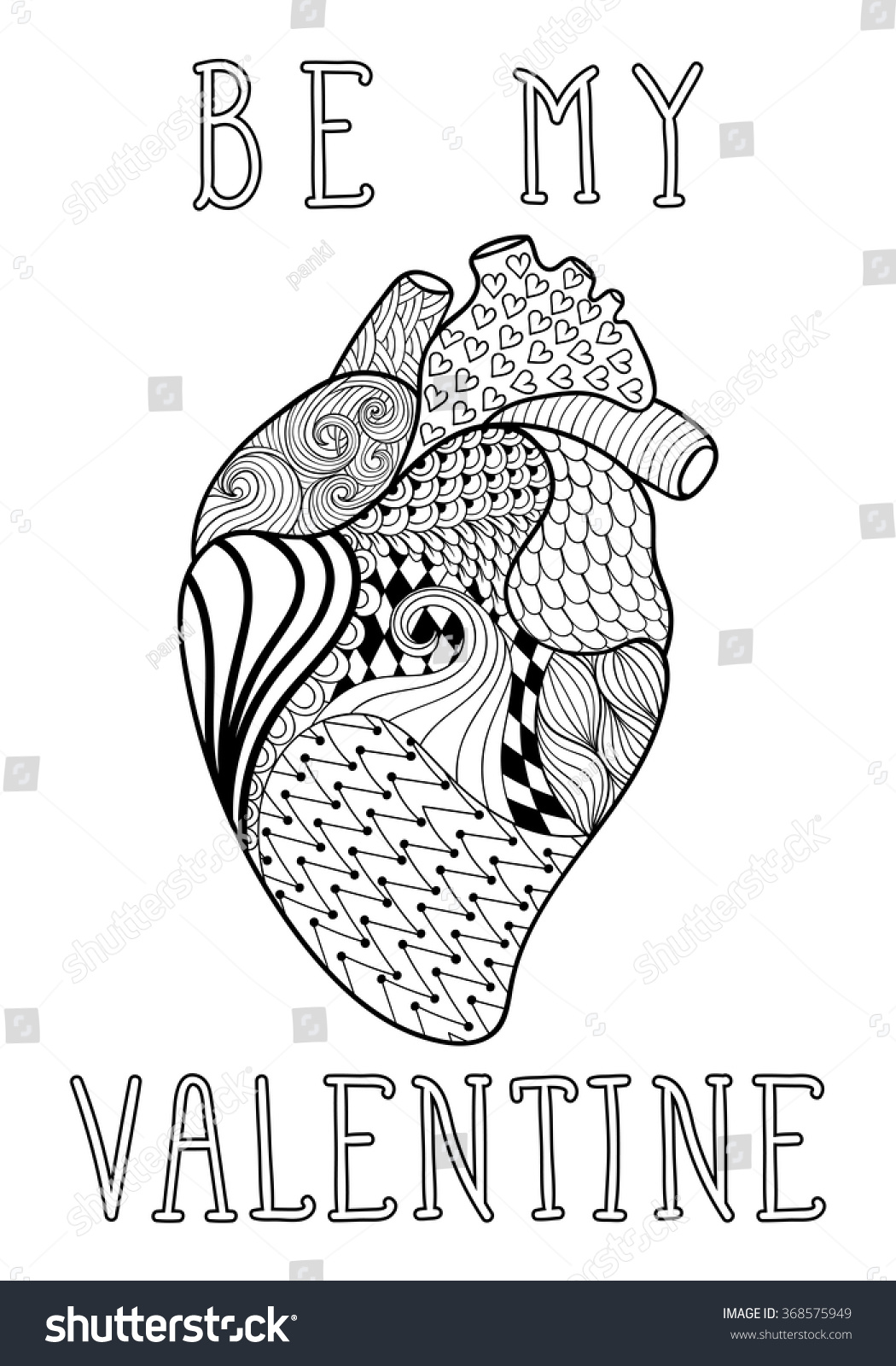 Drawing Printout How To Draw Valentine Heart Hands