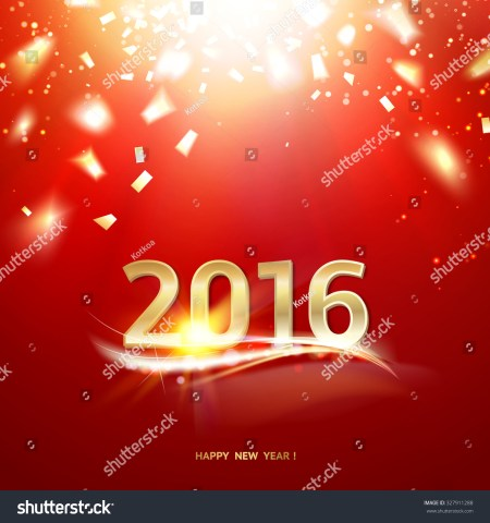 Background Card New Year