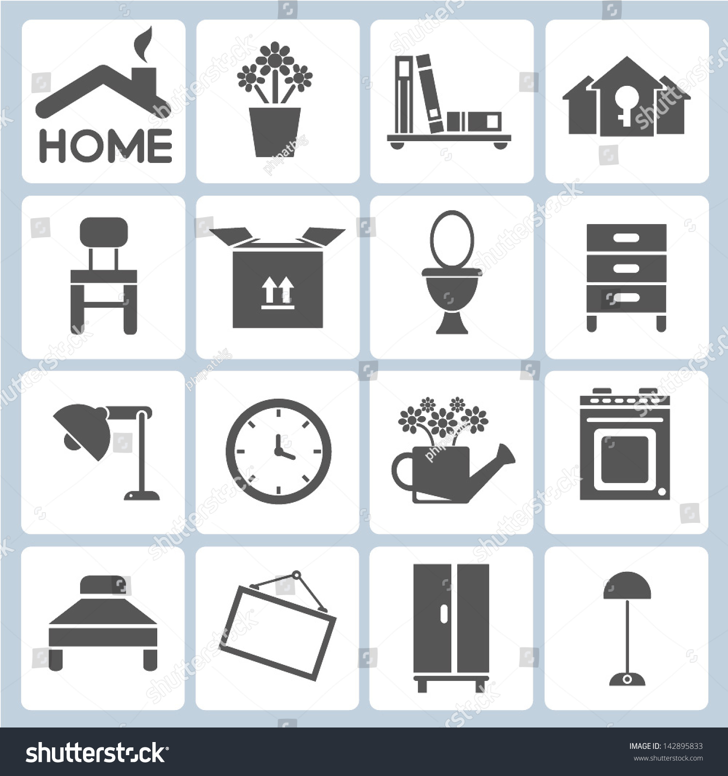 Interior Vectors Photos And Psd Files Interior Design Icons Free Download