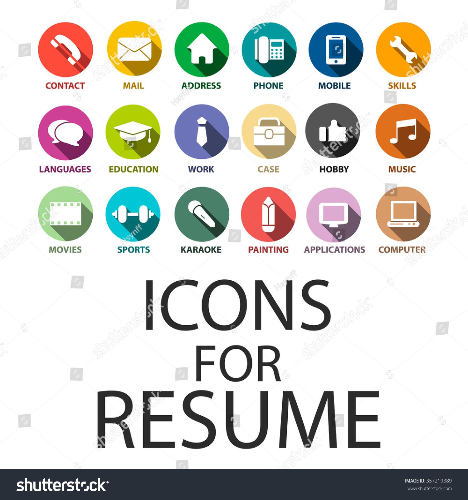 Resume symbols word - Device tester resume