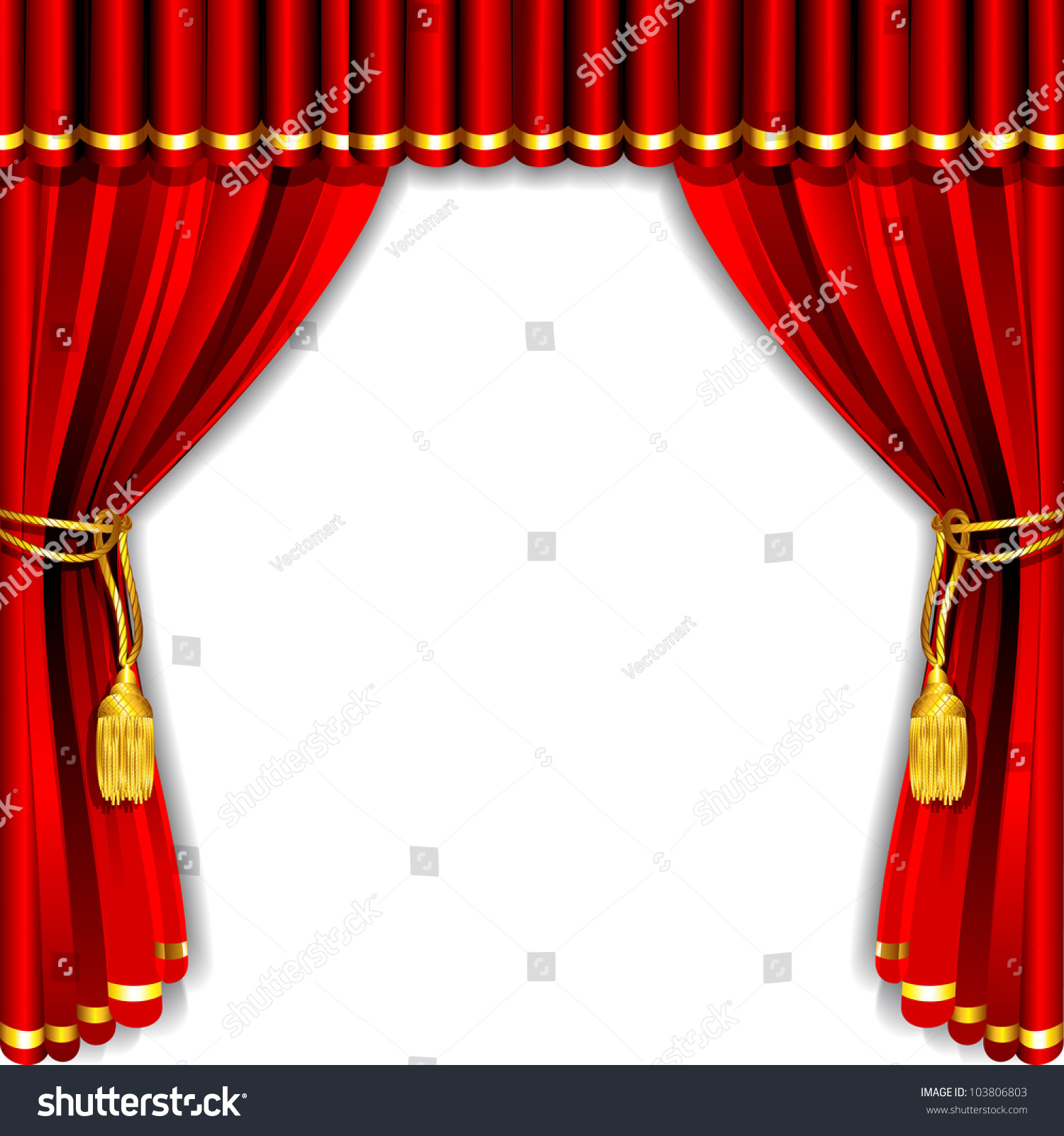 Bl blue stage curtains background -  Blue Theater Silk Curtain Background With Illustration Download