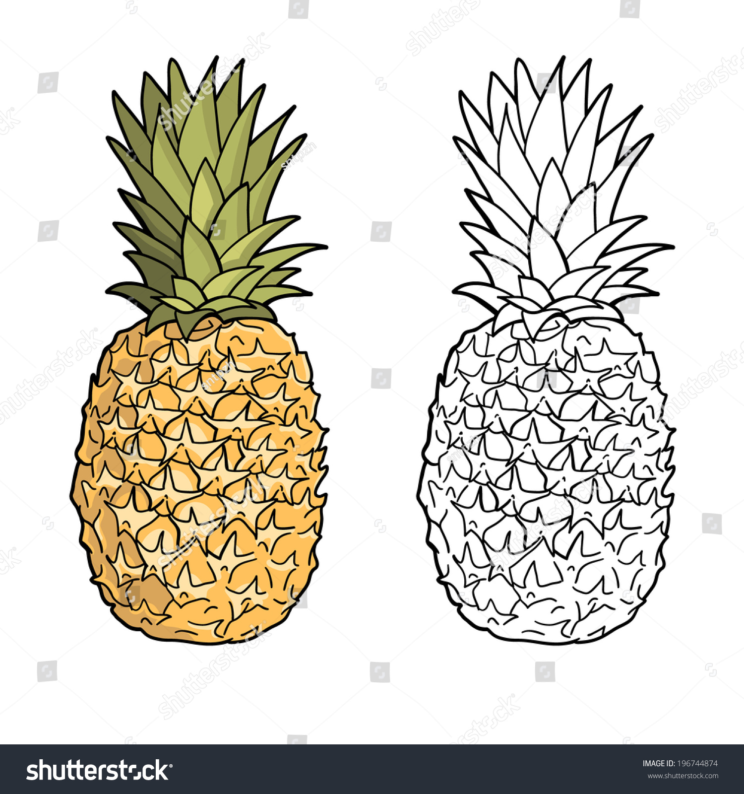 Pineapple With Sunglasses Tumblr Black Pineapple Drawing Pictures To Pin On Pinterest
