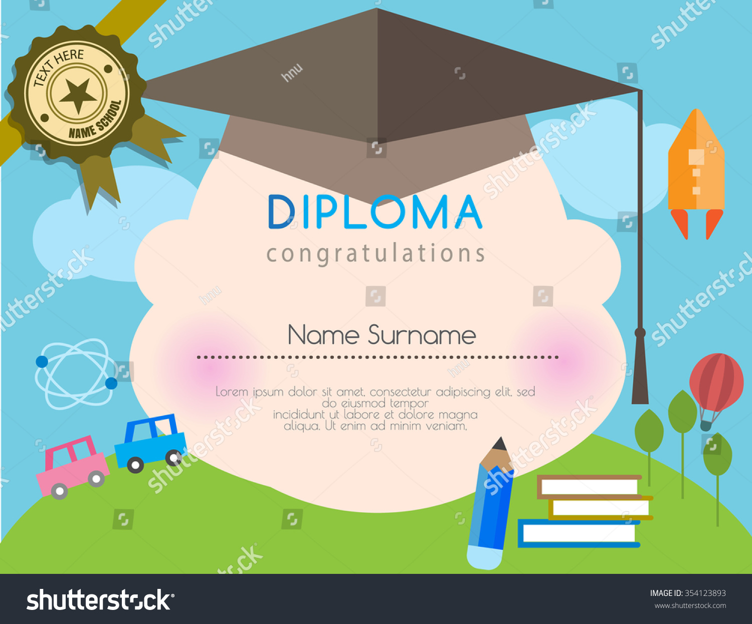 certificate template to edit resume templates certificate template to edit gift certificate template customizable kids diploma preschool certificate elementary school design