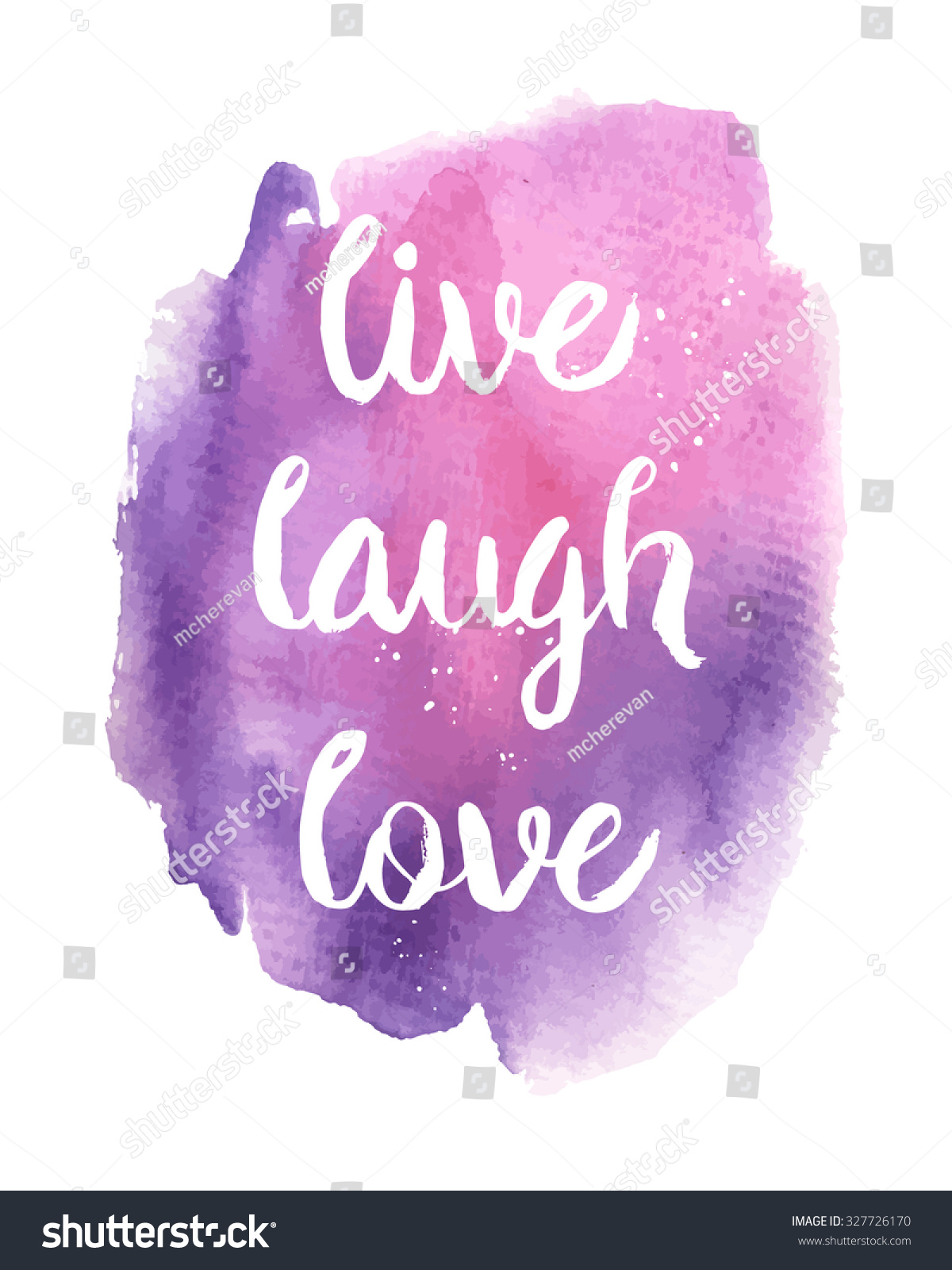 Trendy Quote Wallpapers For Computor Live Laugh Love Inspirational Motivational Quote Vectores