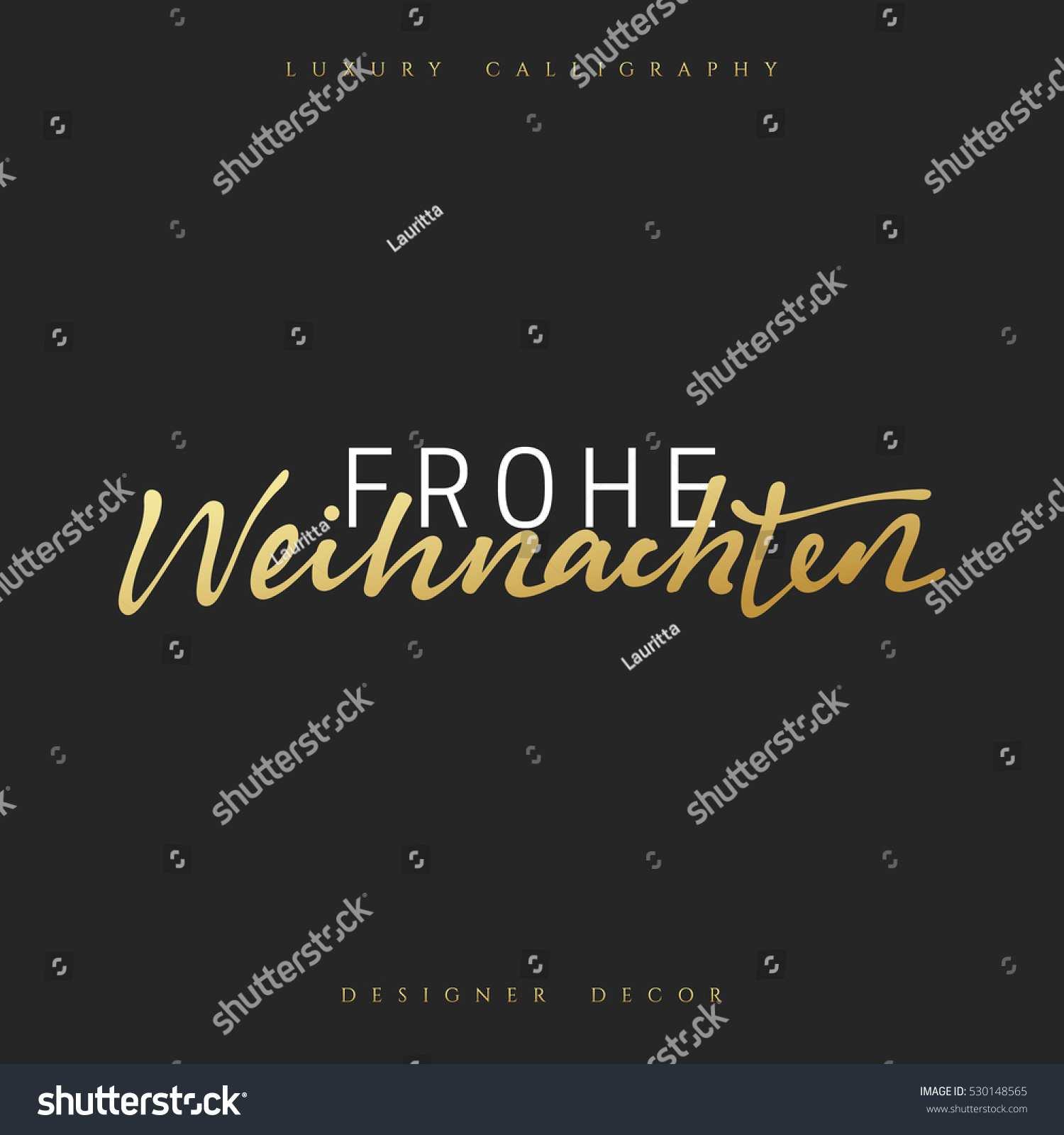 Design Weihnachten Merry Christmas German Inscription Frohe Weihnachten