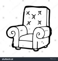 Old Stuffed Armchair Cartoon Stock Vector 103864928 ...