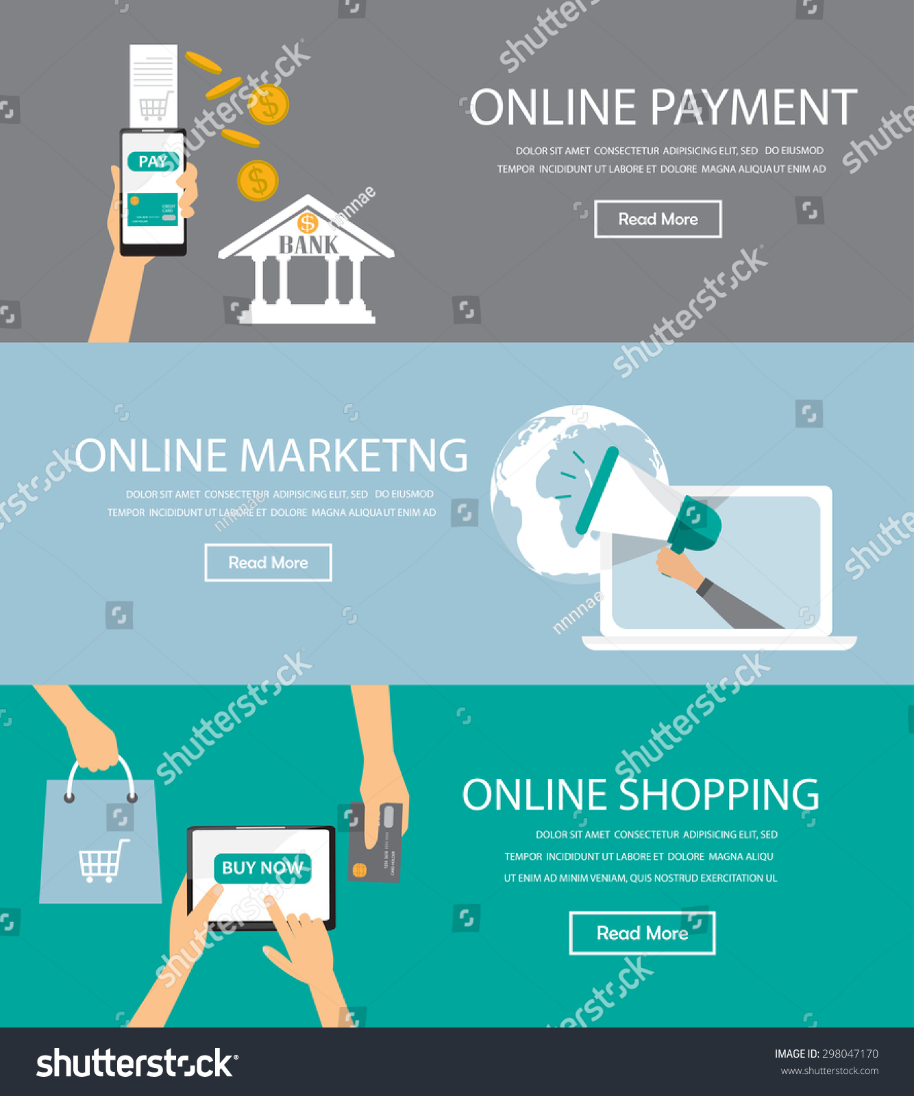 Online Shopping Mode Of Payment Online Marketing Shopping Payment Infographics Element