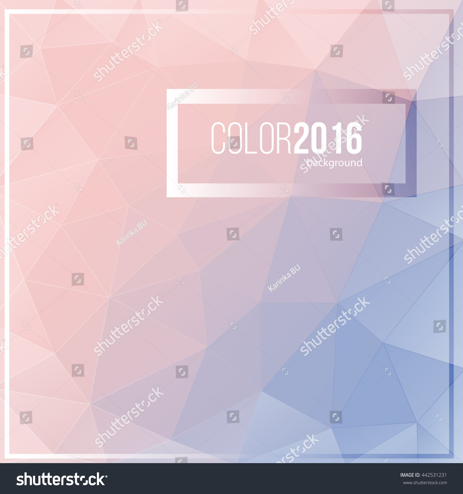 Pantone Color 2016 Pantone Color Year 2016 Rose Quartz Stock Vector Royalty Free