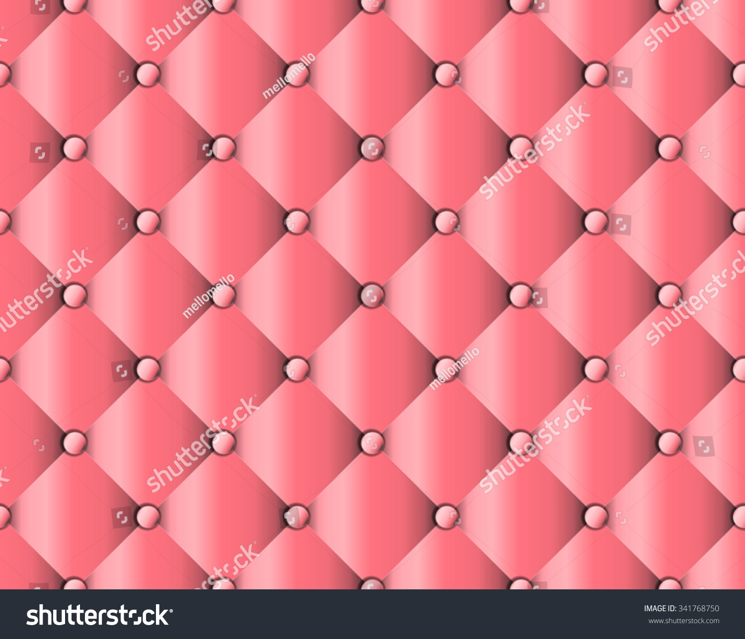 Sofa Texture Vector Pink Upholstery Sofa Texture Pattern Background Stock Vector