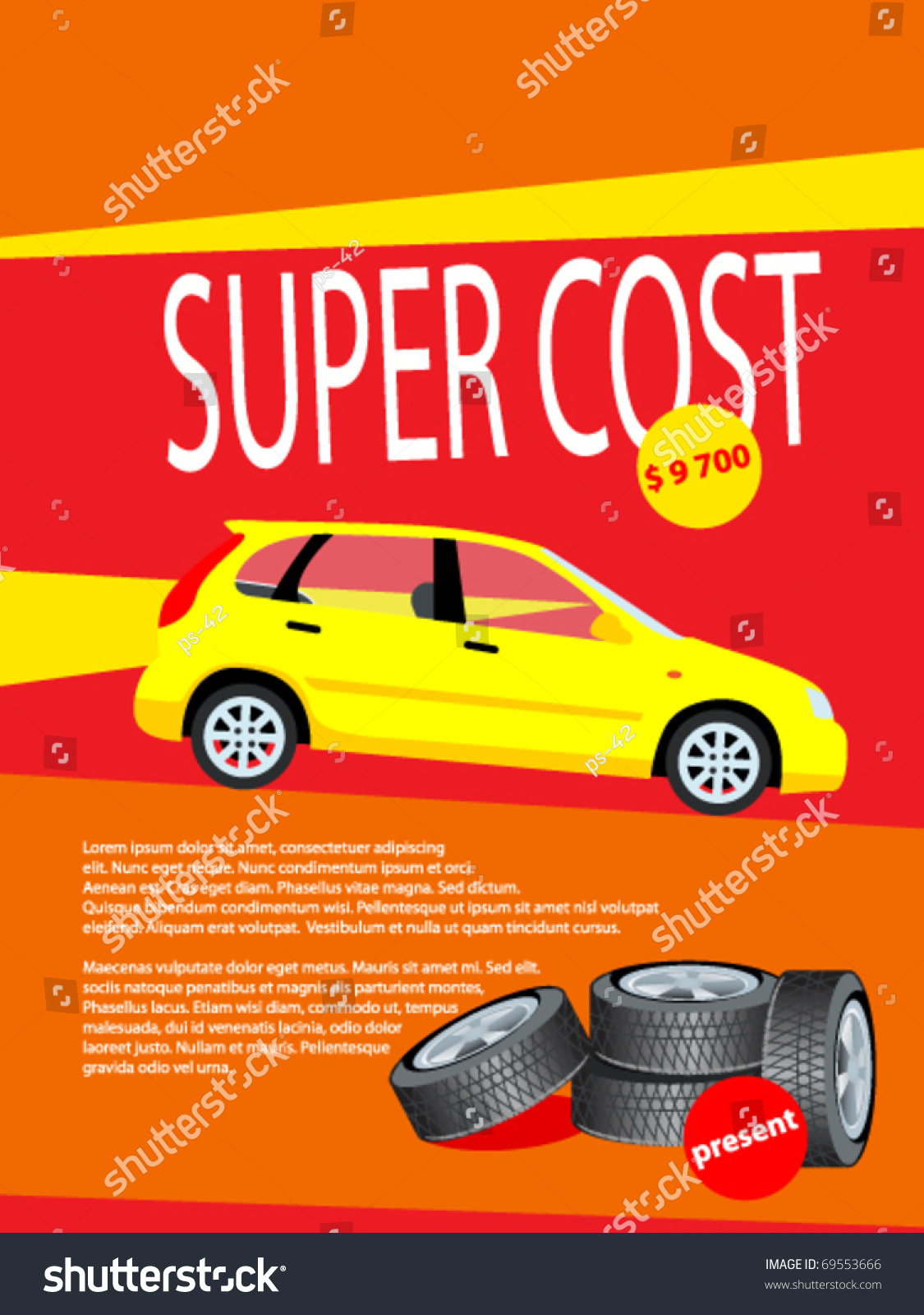 Poster design price -  Poster Design Sale Card Offers Price Vector Download
