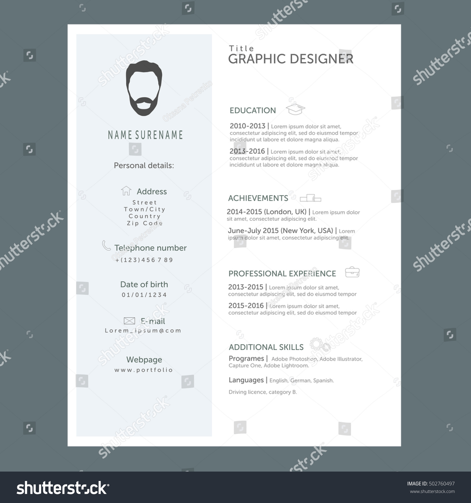 Cv Format Norsk  Example Of Cv And Application Navno  Cv Templates And  Guidelines Europass  Writing A Good Cv Navno  Norway Guide Job  Applications In