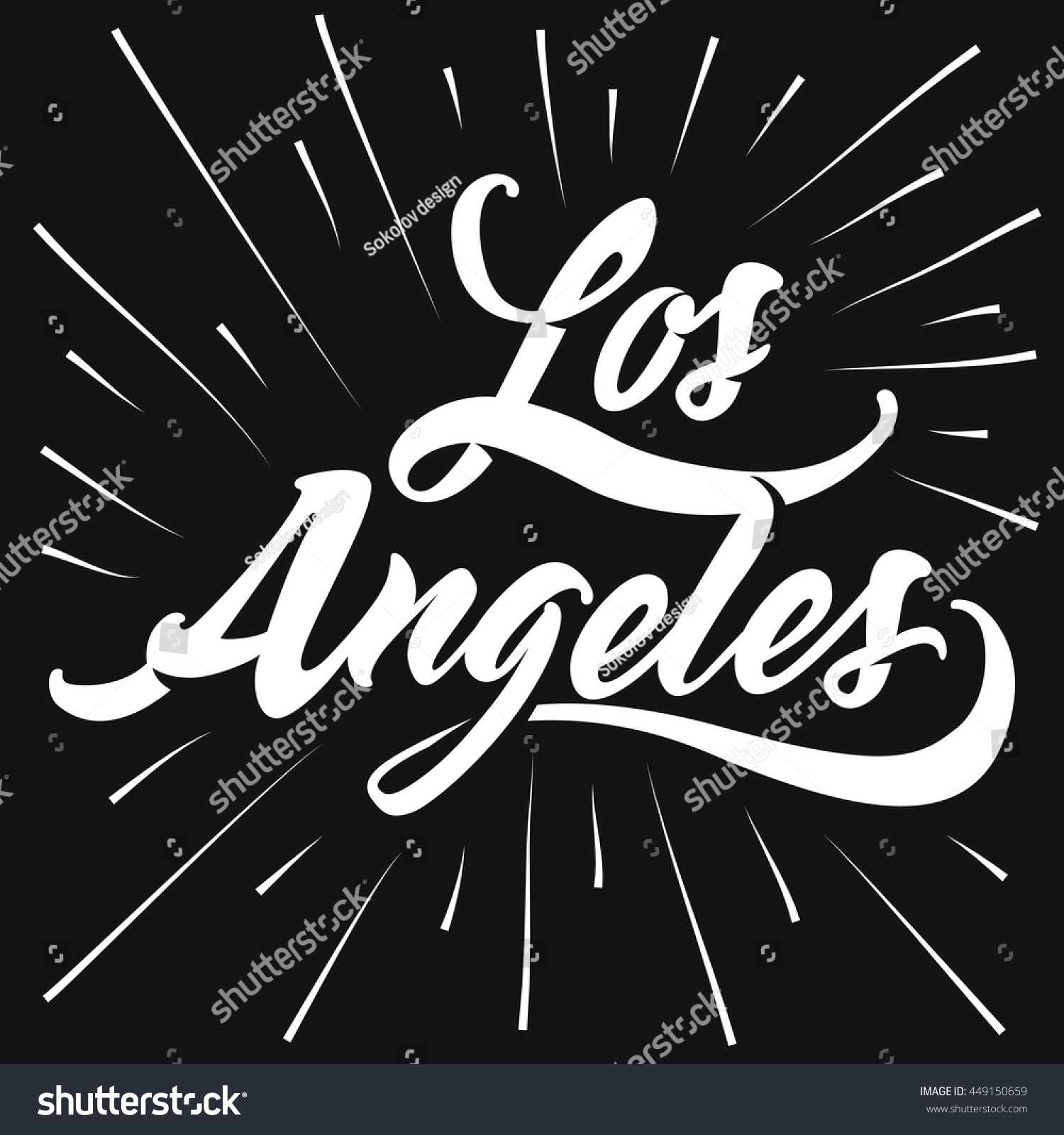 Design t shirts los angeles - Design T Shirts Los Angeles Retro Old School Tee Graphics Vintage Hand Lettered Textured Los Download
