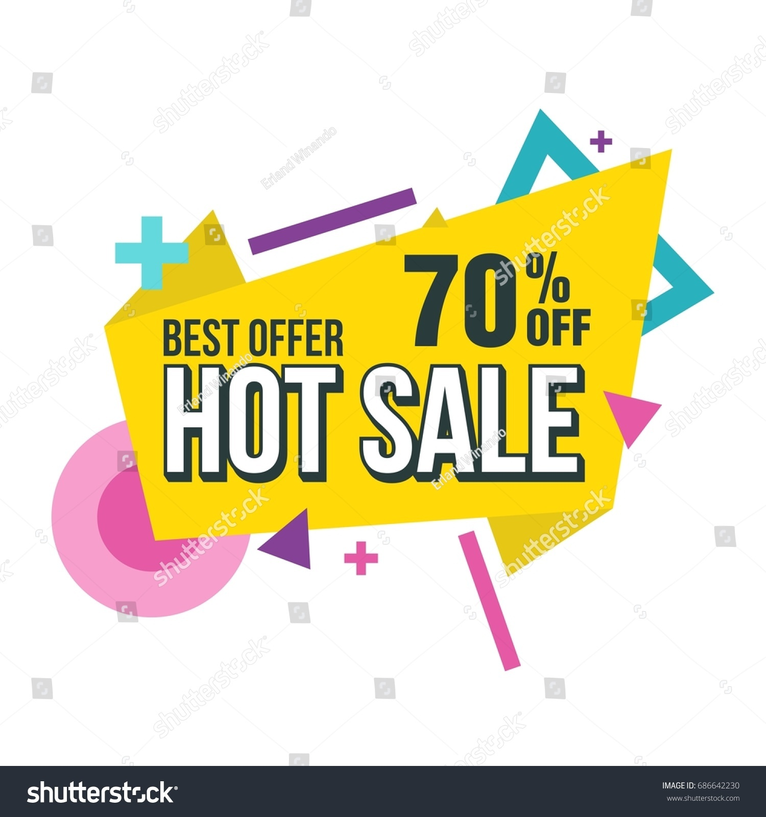 Store Banne Discount Sale Banner Big Sale Discount Banner Stock Vector Royalty Free