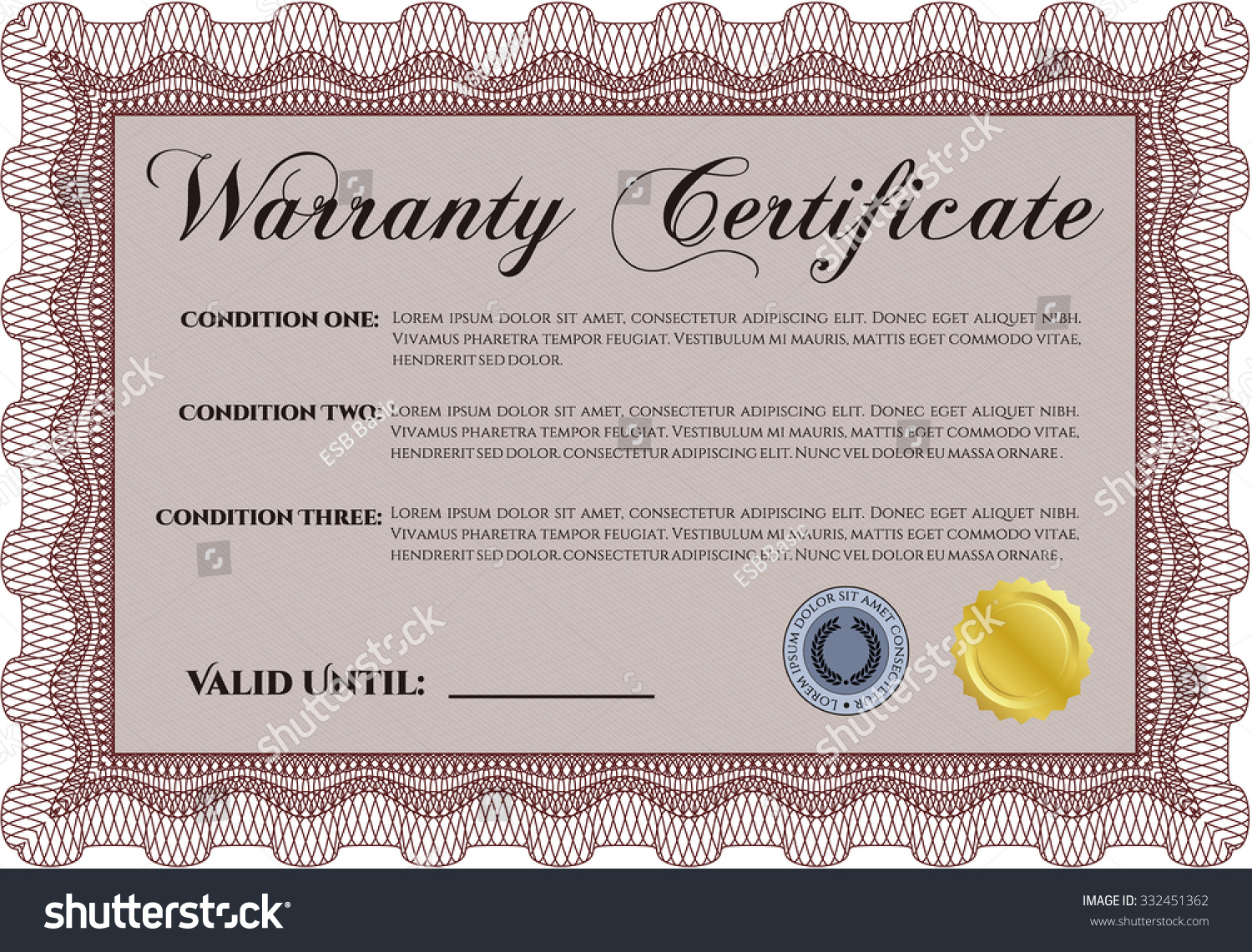 Certificate Template Sample – Certificate Samples