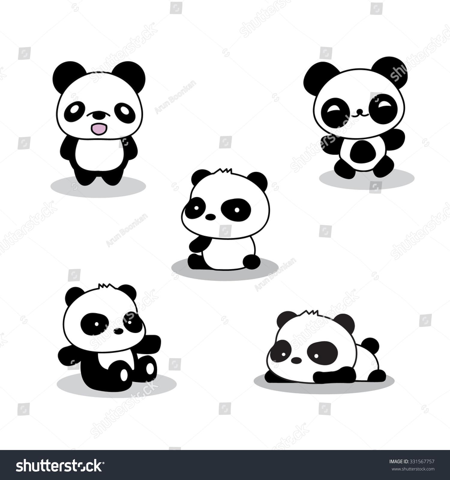 Cute Sleeping Babies Wallpapers Pics For Gt Panda Bear Cartoon Sitting