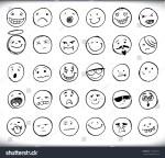 Facial Expressions Emoticons