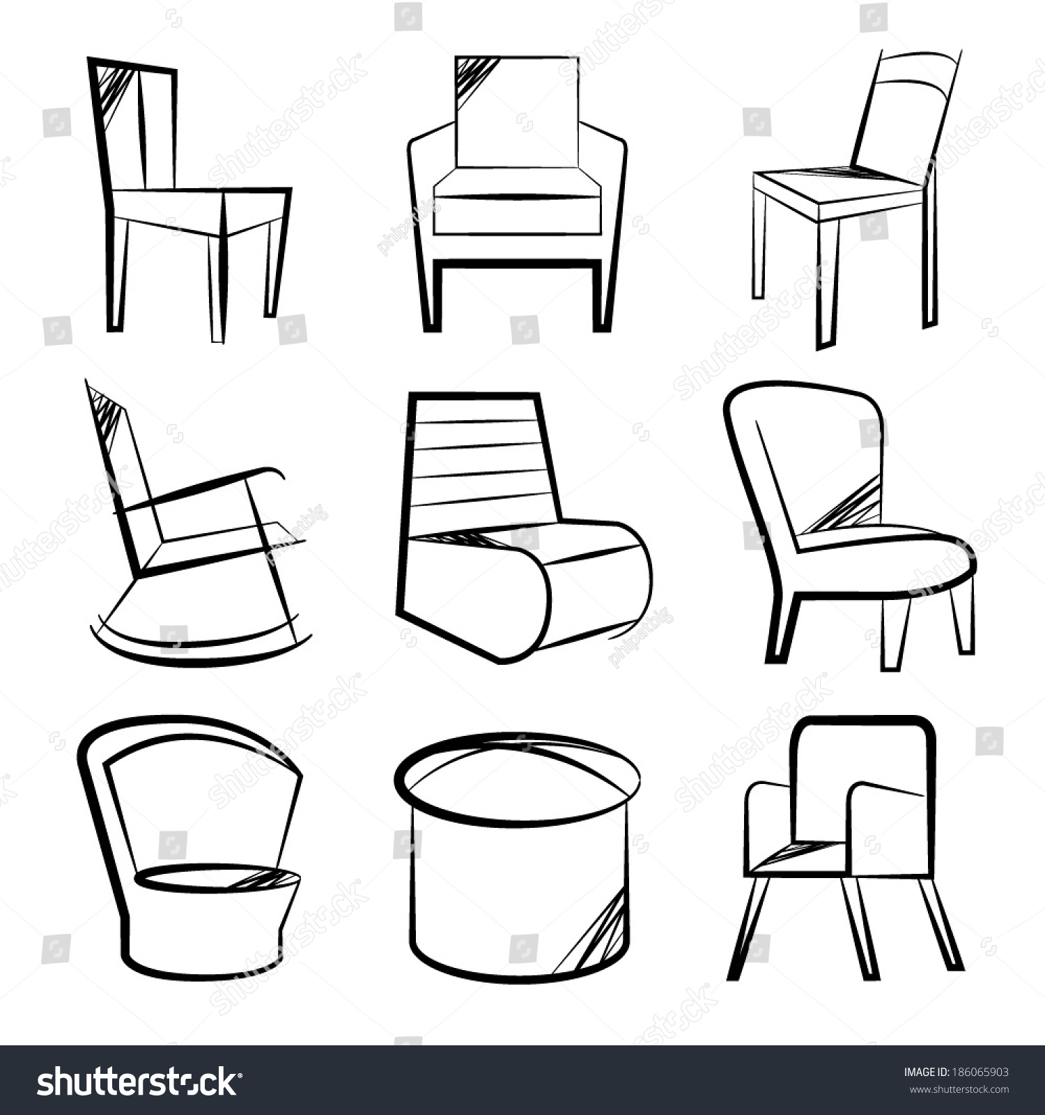Chair Sketch jinils drawing. downloads. chairs. chair sketch. davis furniture