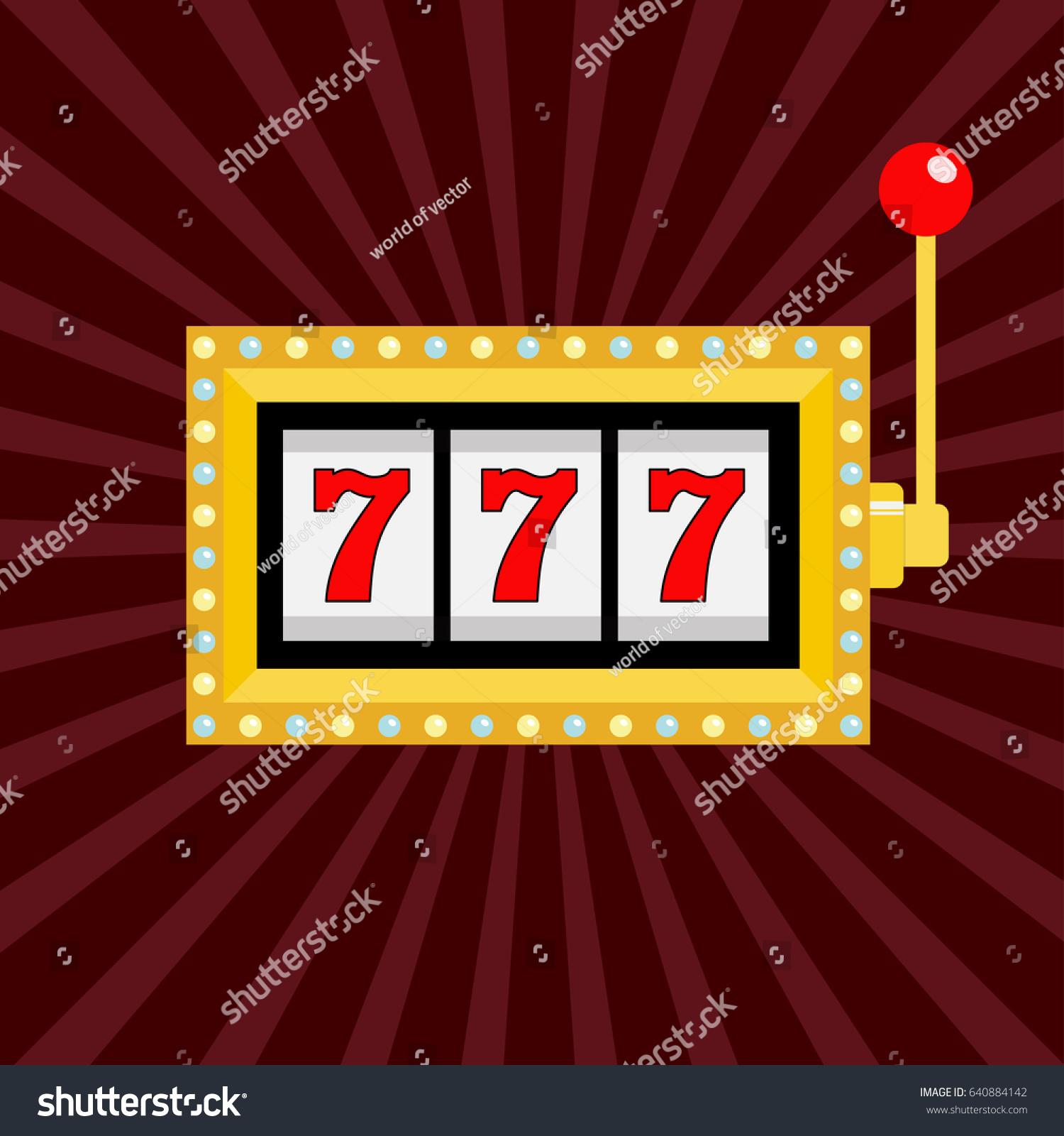 Jackpot Gambling Banner Sign Decoration Vector Stock Auto Wiring Diagram