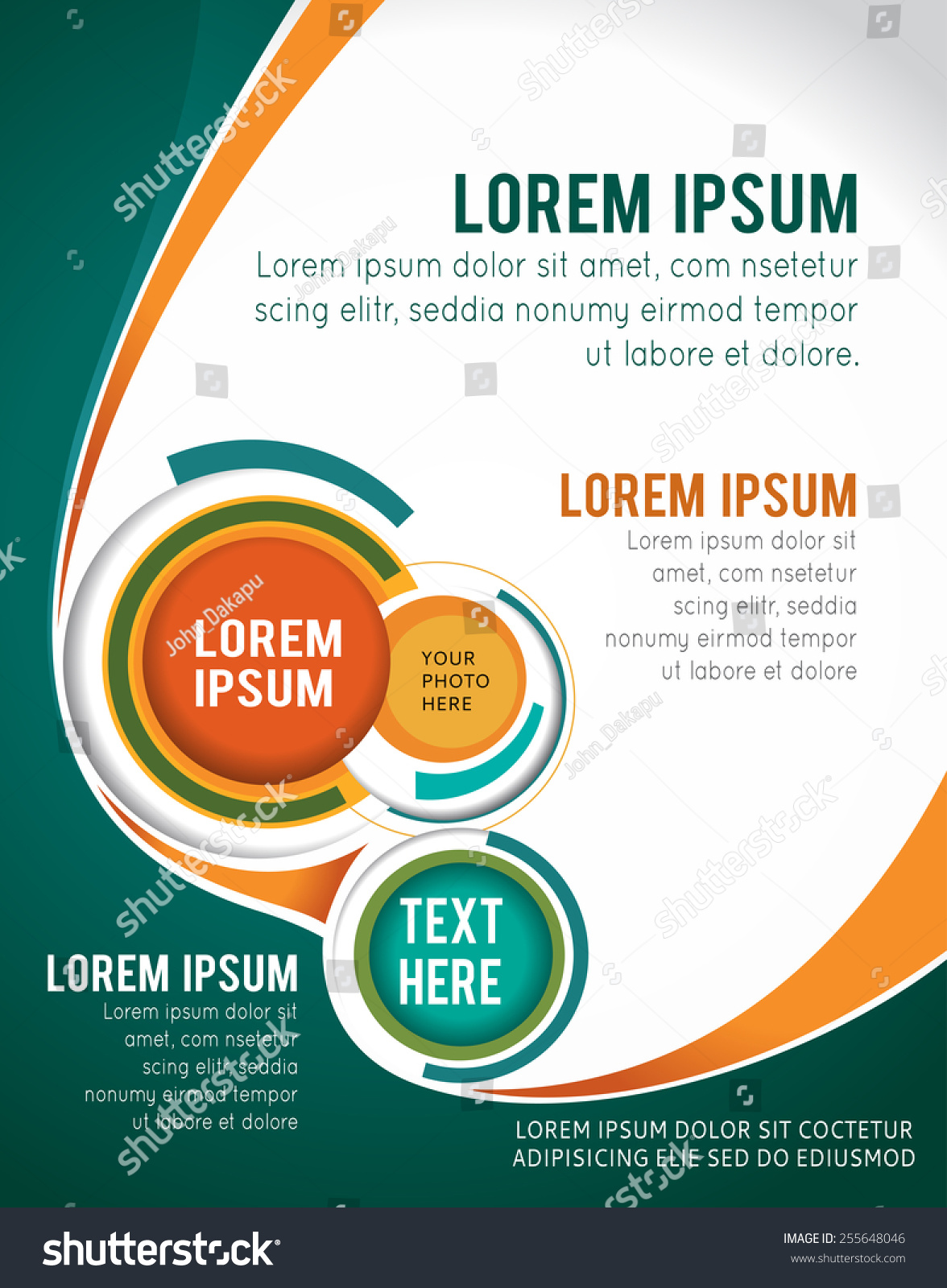 Poster design layout templates - Download
